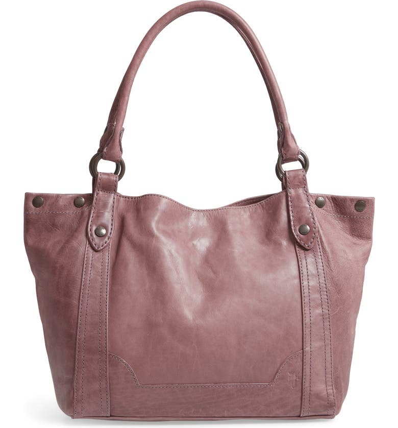 Frye Shoulder MELISSA LEATHER SHOULDER BAG - PINK