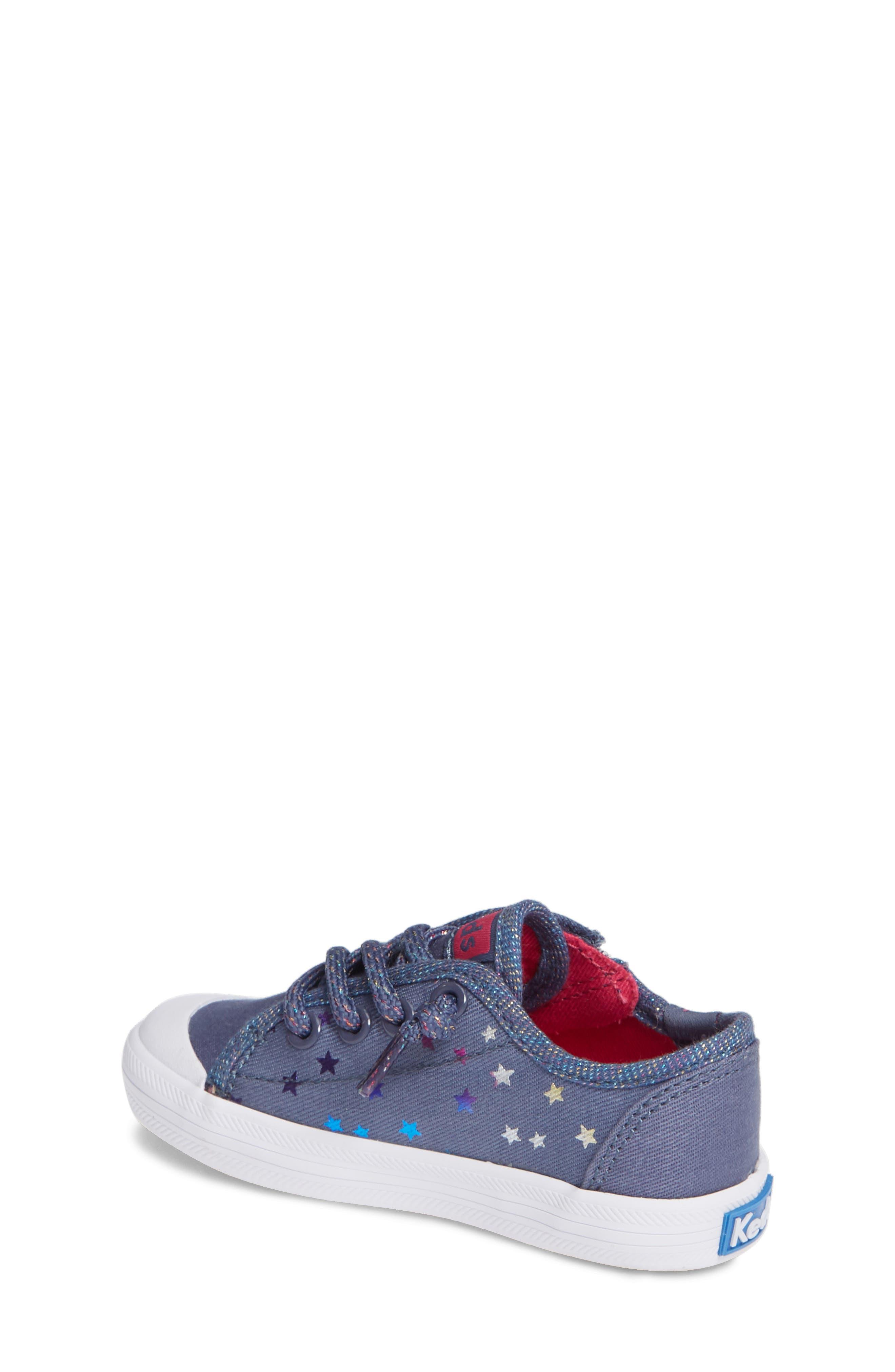 KEDS<SUP>®</SUP>, Kickstart Cap Toe Sneaker, Alternate thumbnail 2, color, STAR PERF