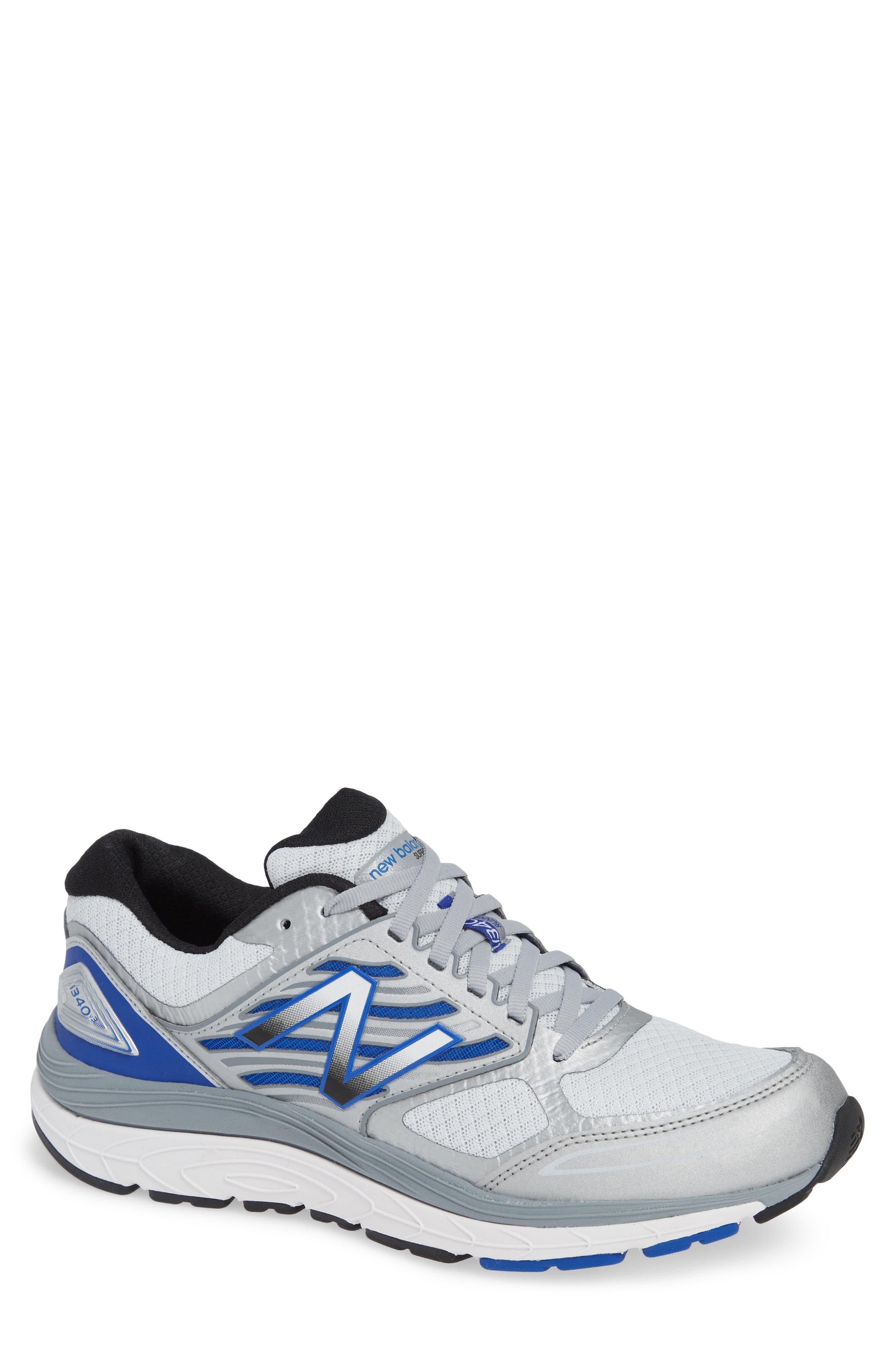 NEW BALANCE, 1340v3 Running Shoe, Main thumbnail 1, color, WHITE