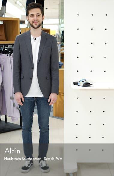 'Benassi - Just Do It' Print Sandal, sales video thumbnail
