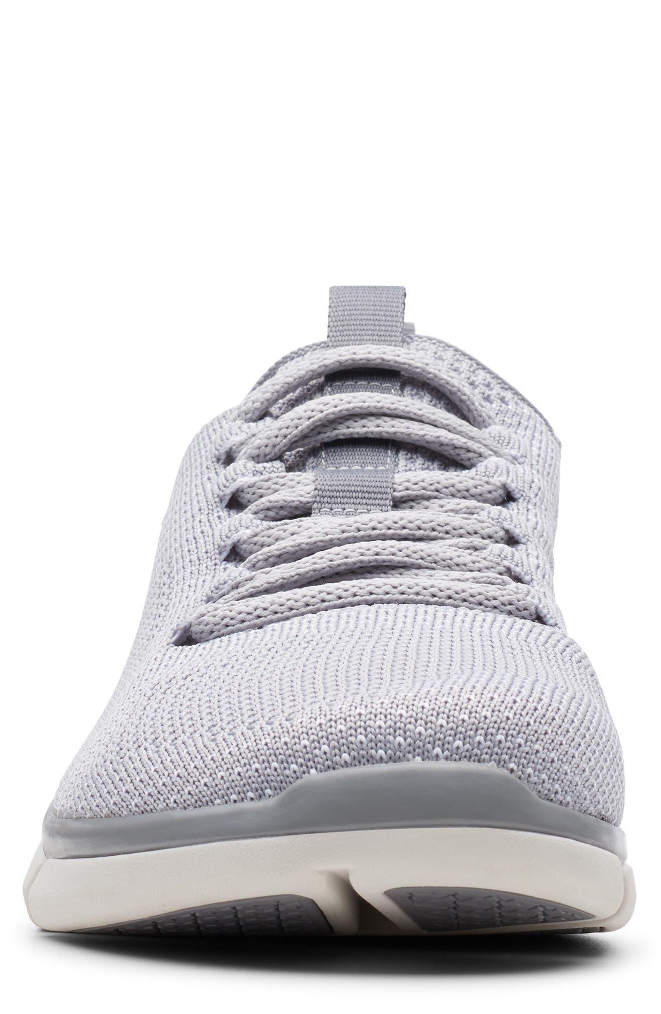 CLARKS<SUP>®</SUP>, Triken Run Sneaker, Alternate thumbnail 3, color, GREY