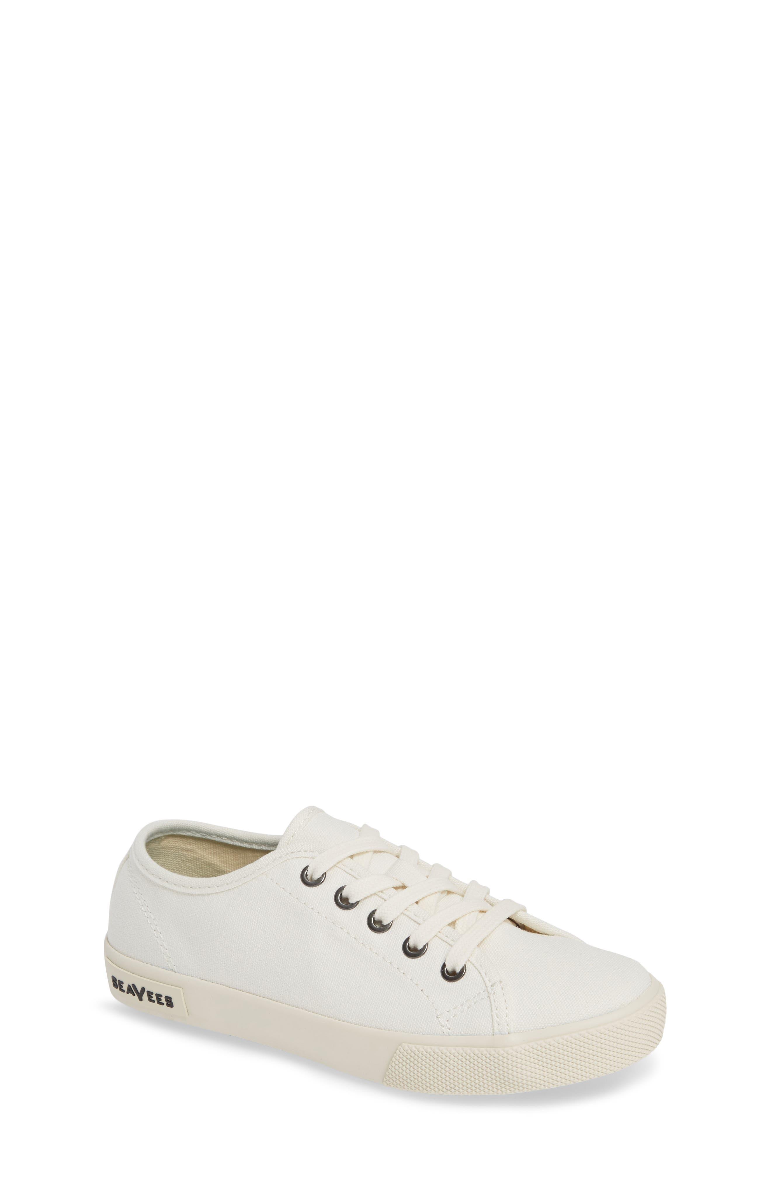 Kids Seavees Monterey Standard Sneaker Size 4 M  White