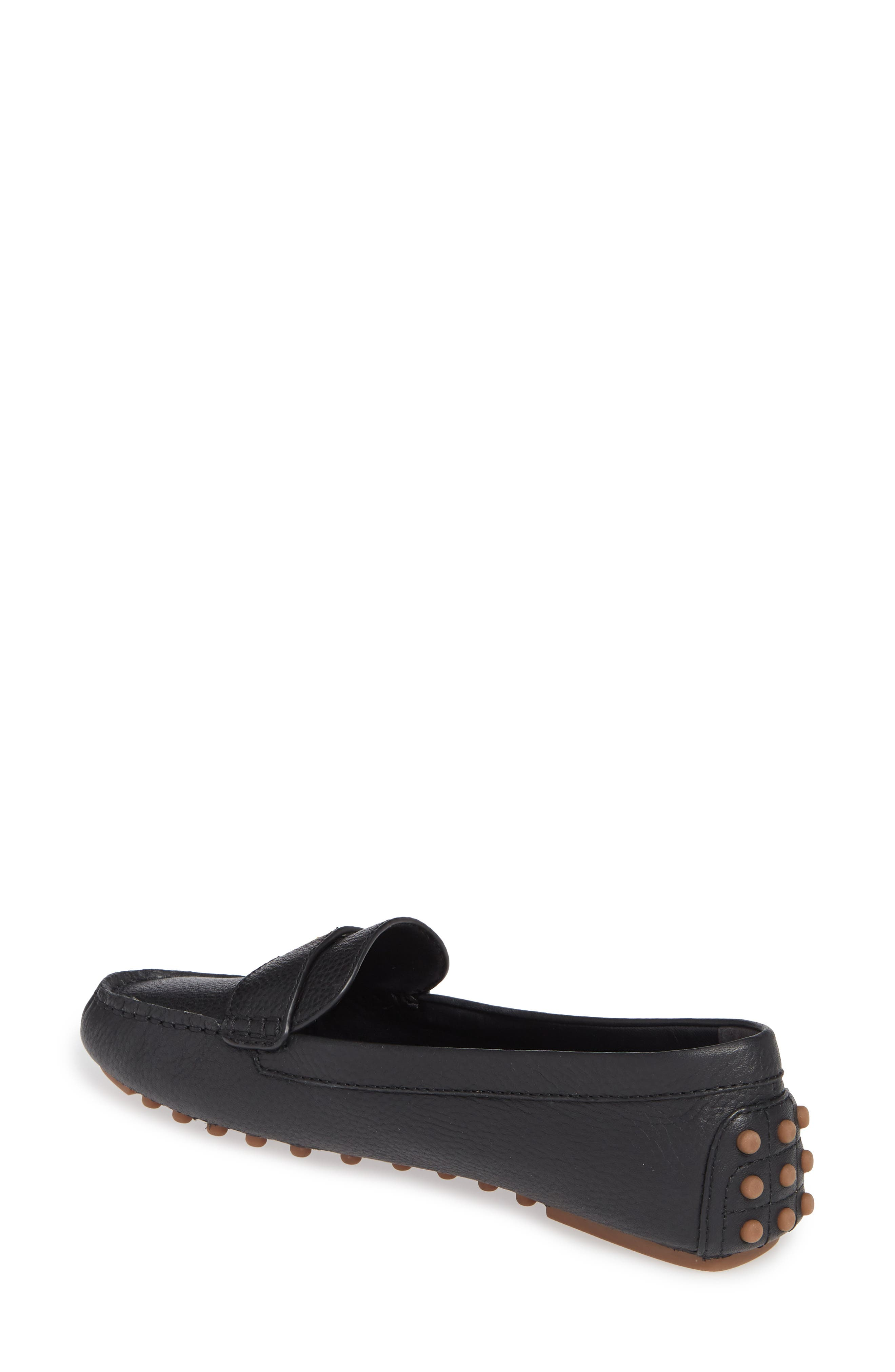 TORY BURCH, Kira Driving Loafer, Alternate thumbnail 2, color, PERFECT BLACK