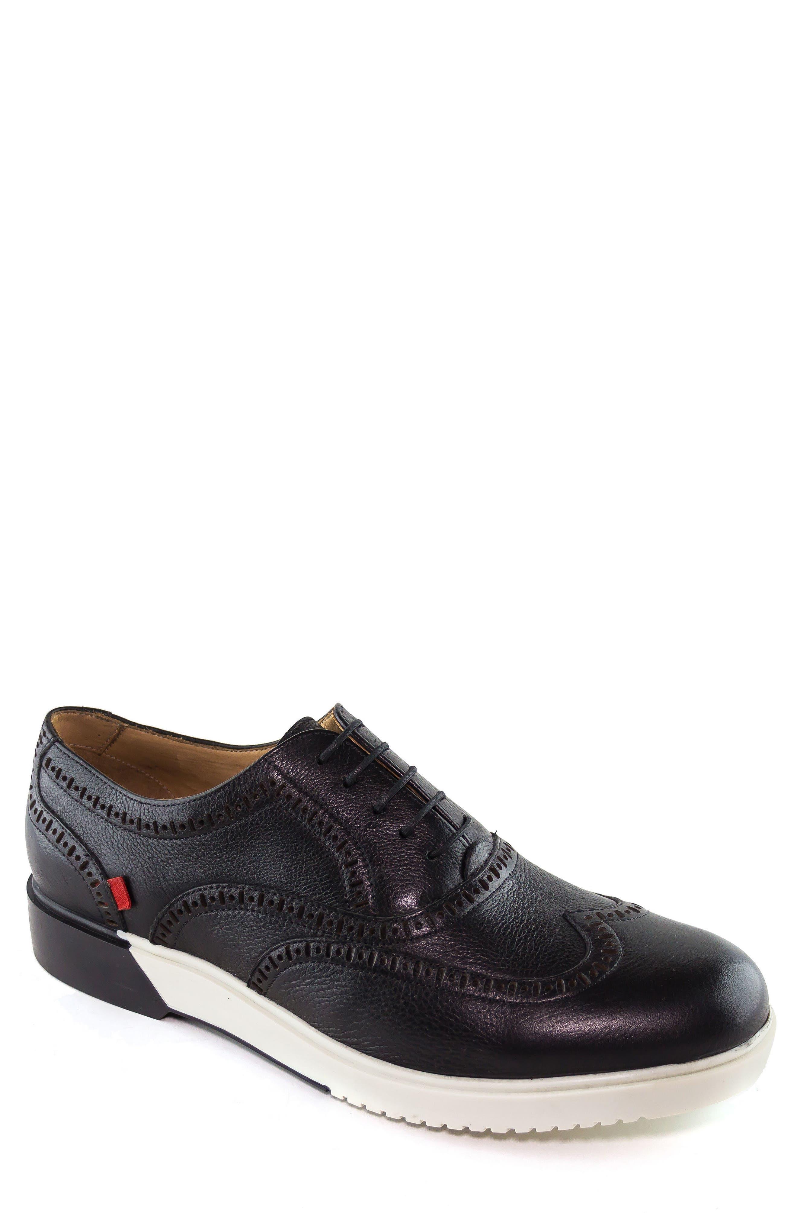 MARC JOSEPH NEW YORK, 5th Ave Wingtip Sneaker, Main thumbnail 1, color, 001