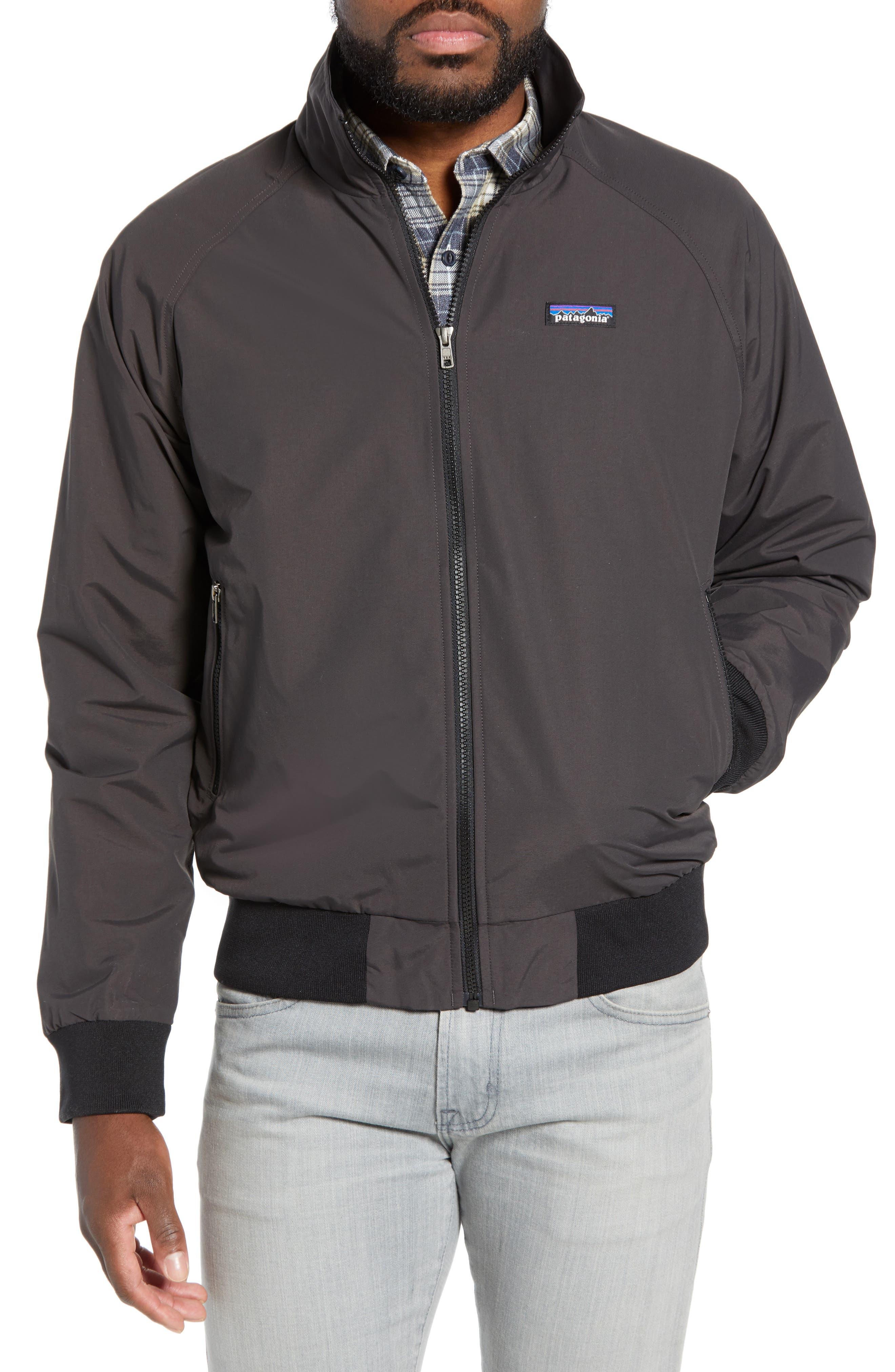 PATAGONIA Baggies Wind & Water Resistant Jacket, Main, color, INK BLACK