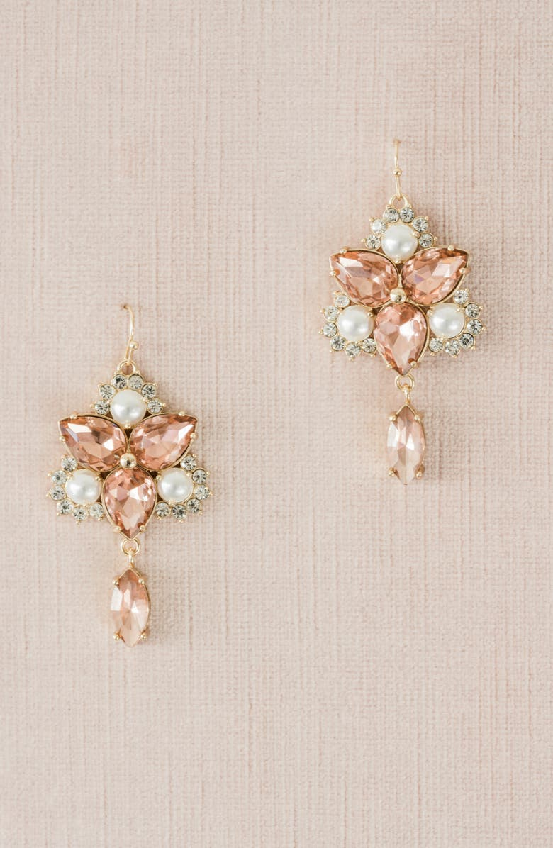 Rachel Parcell Vintage Crystal Chandelier Earrings (Nordstrom Exclusive) | Nordstrom