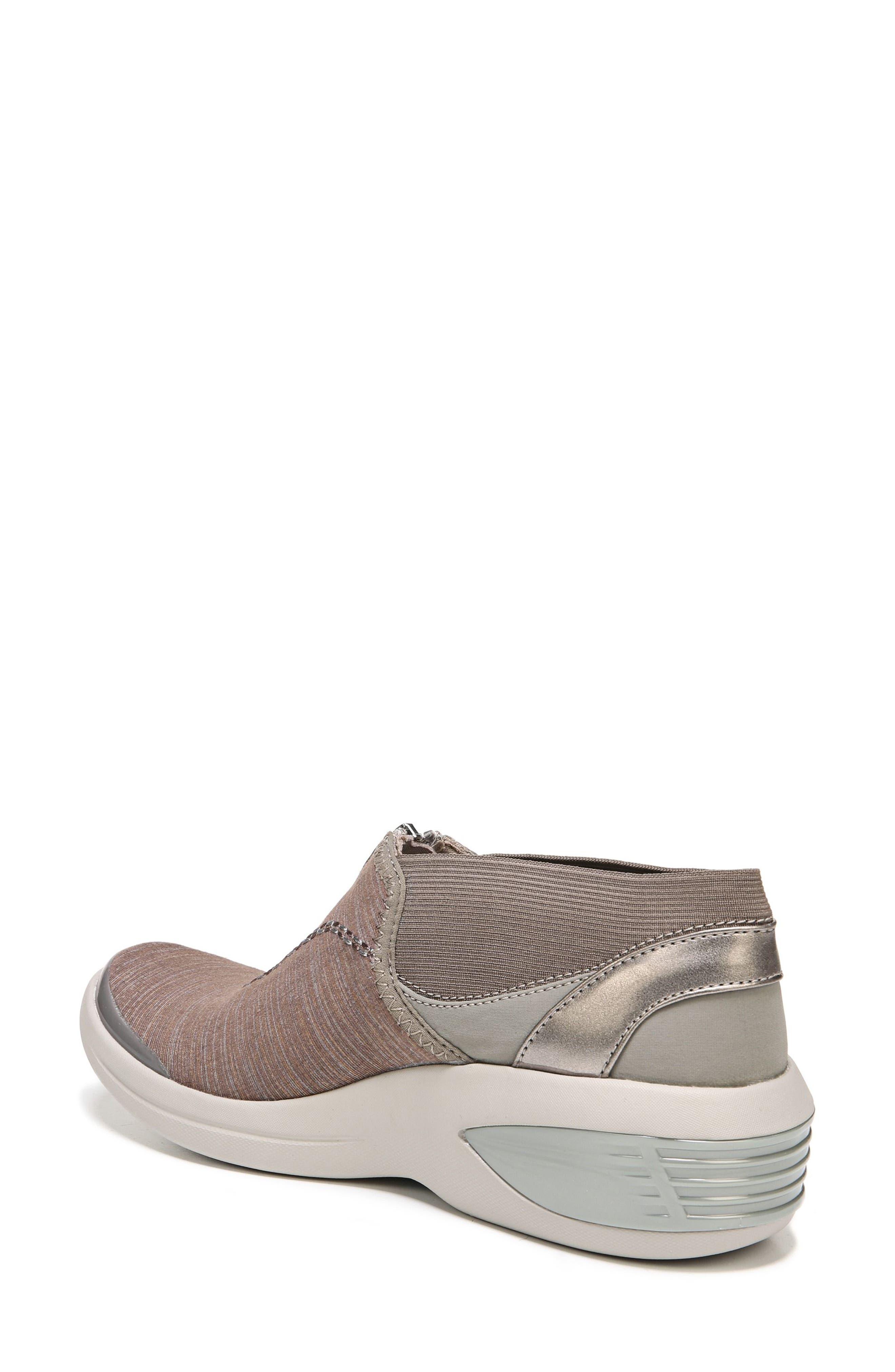 BZEES, Fling Wedge Sneaker, Alternate thumbnail 2, color, BROWN FABRIC