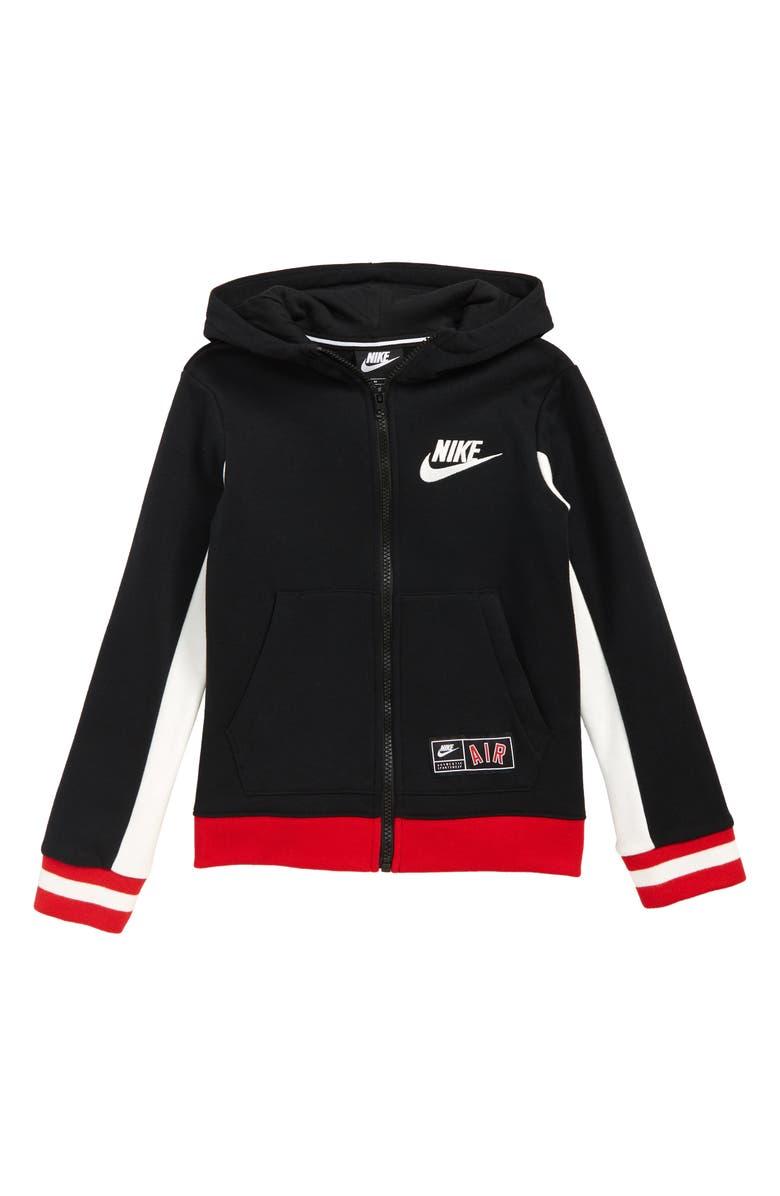 aff4605e0f Nike Air Full Zip Hoodie (Toddler Boys & Little Boys) | Nordstrom
