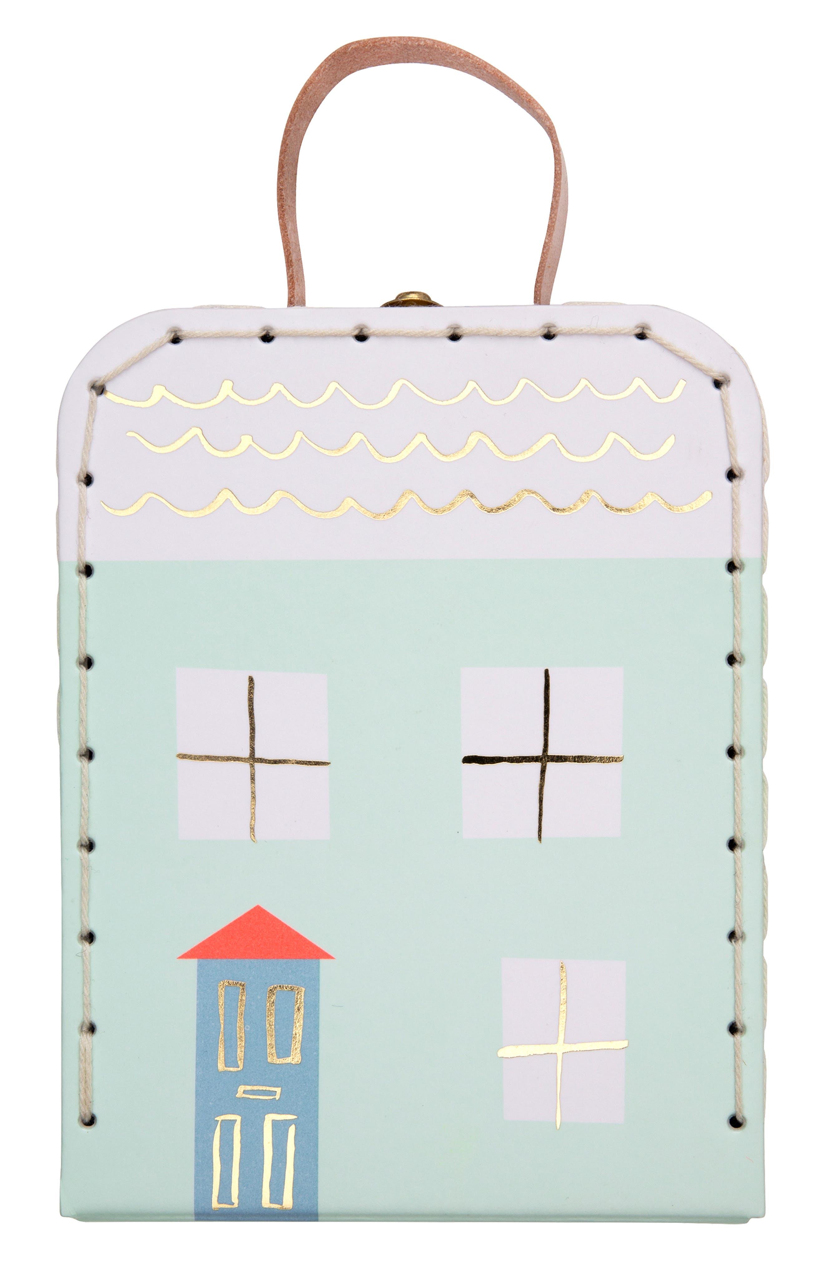MERI MERI, Mini Lila Doll & Suitcase Set, Alternate thumbnail 2, color, 960