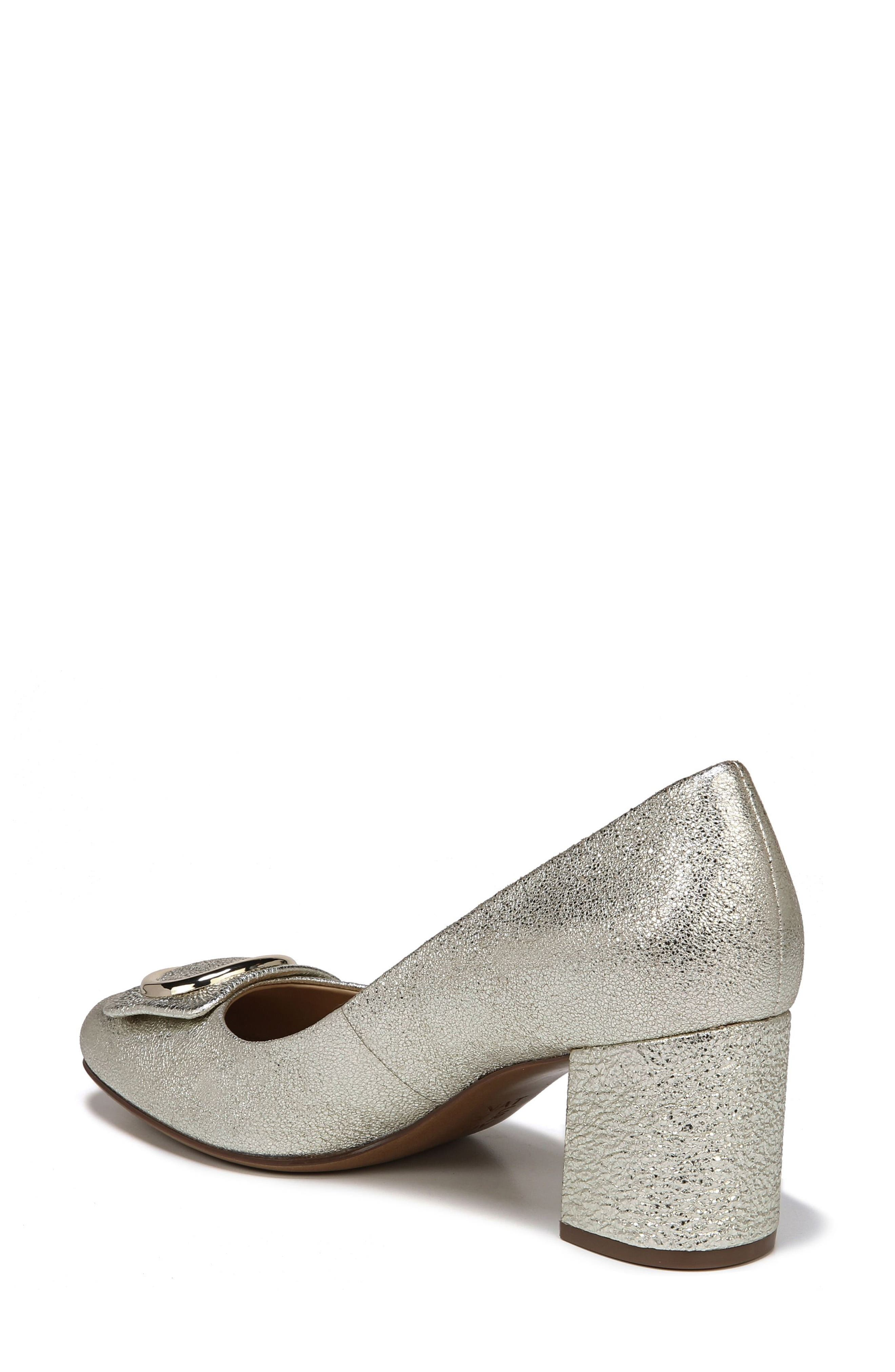 NATURALIZER, Wright Pump, Alternate thumbnail 2, color, PLATINO LEATHER