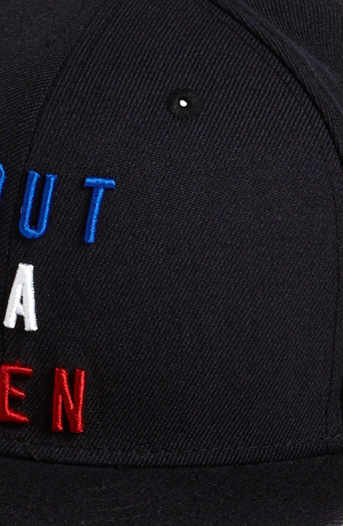 NEW ERA CAP, 'Tout Va Bien' Baseball Cap, Alternate thumbnail 4, color, 410