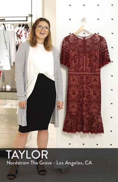 Embroidered Mesh Dress, sales video thumbnail