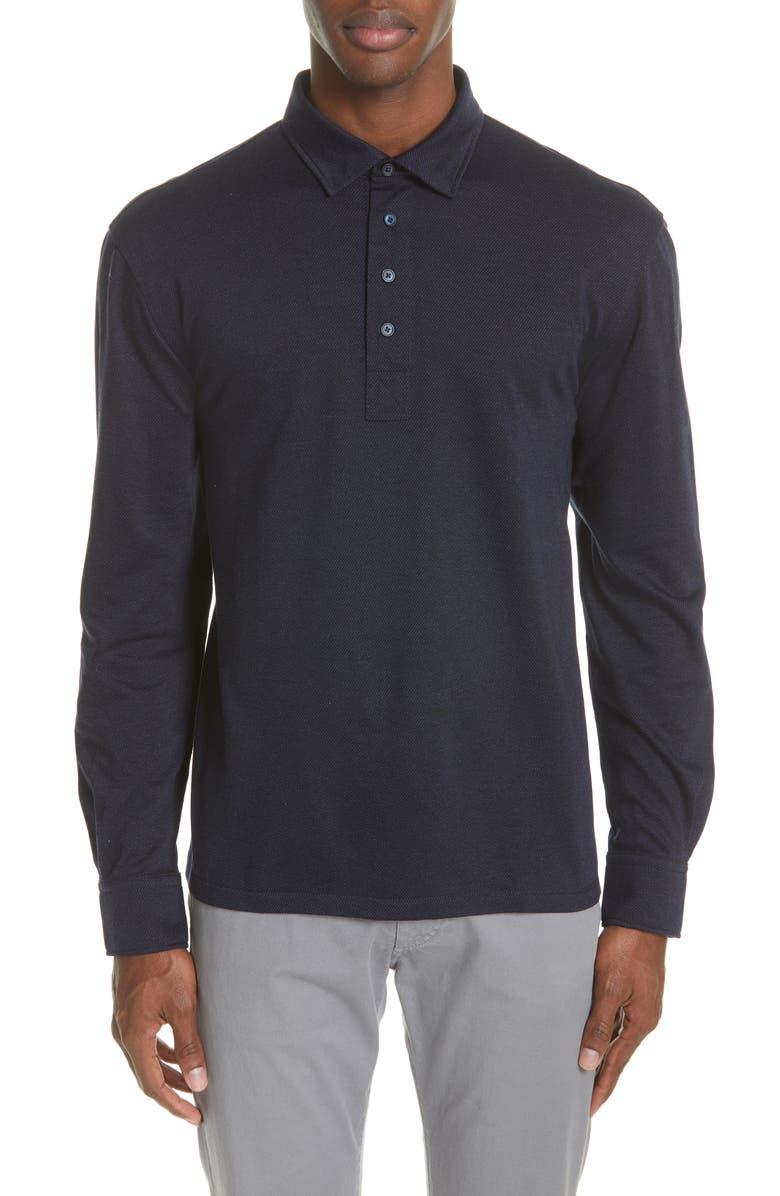 569ad9fc93 Twill Cotton Polo Shirt