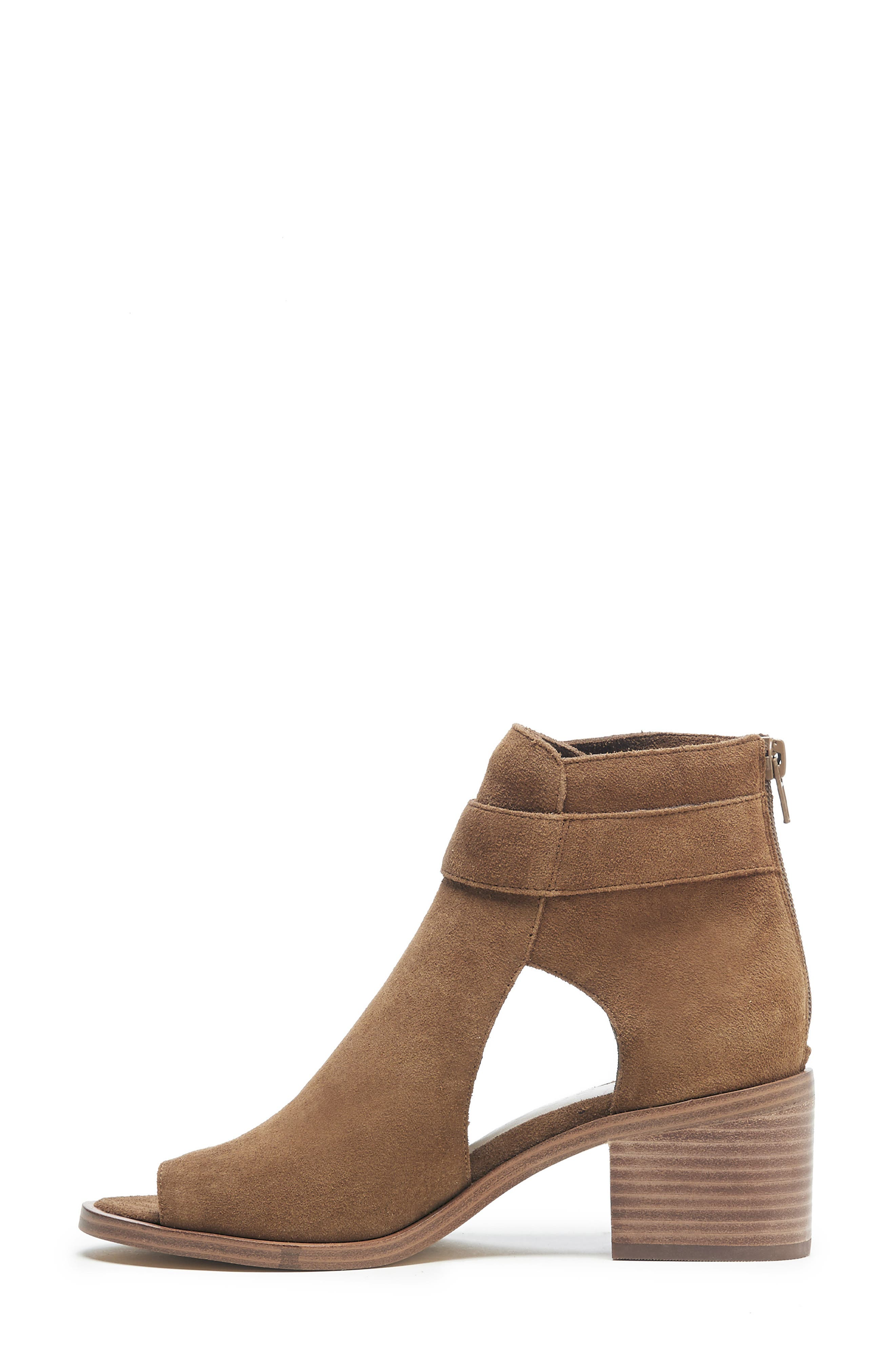 SOLE SOCIETY, Tracy Block Heel Sandal, Alternate thumbnail 5, color, TOBACCO SUEDE