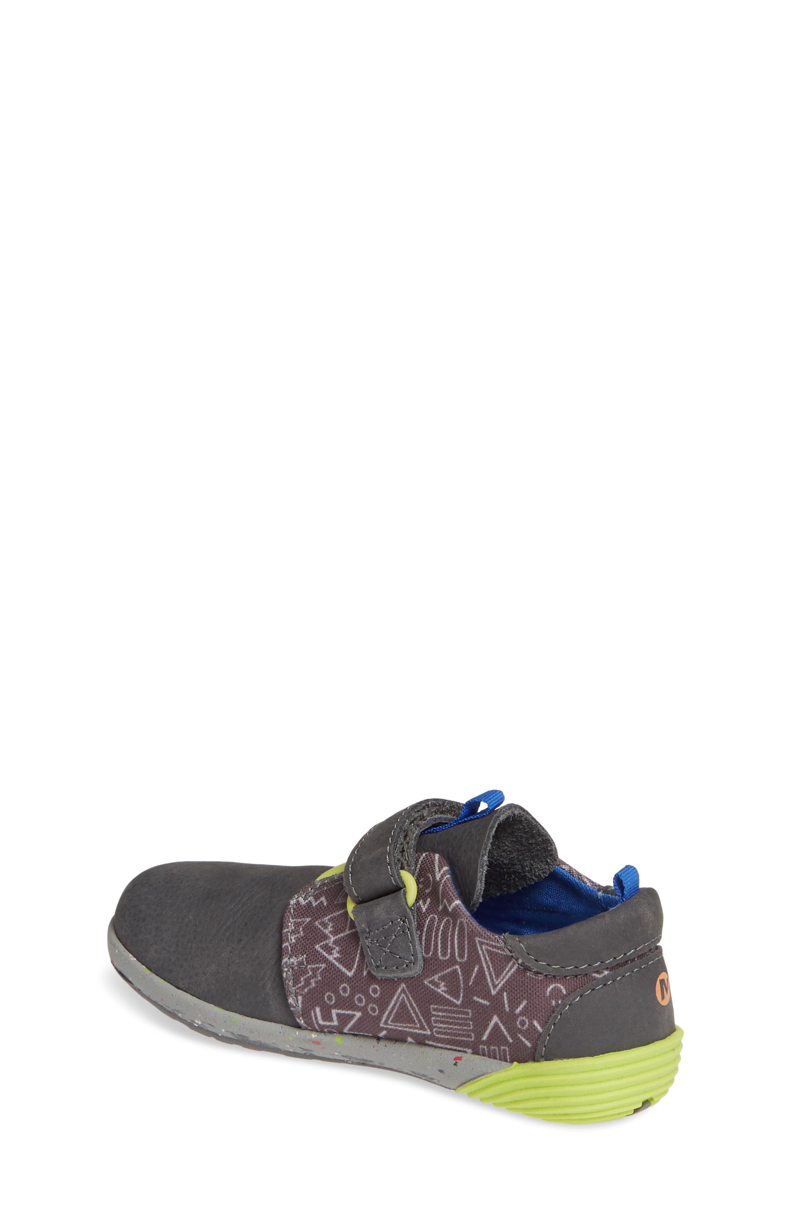 MERRELL, Bare Steps Sneaker, Alternate thumbnail 2, color, GREY