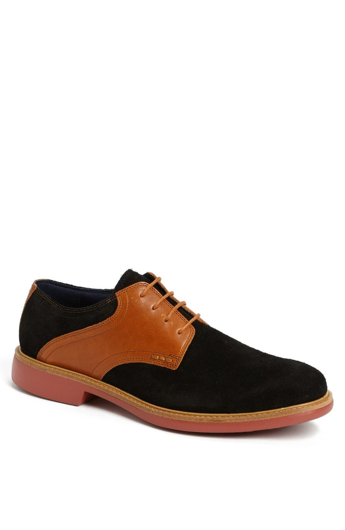 COLE HAAN, 'Great Jones' Saddle Shoe, Main thumbnail 1, color, 001