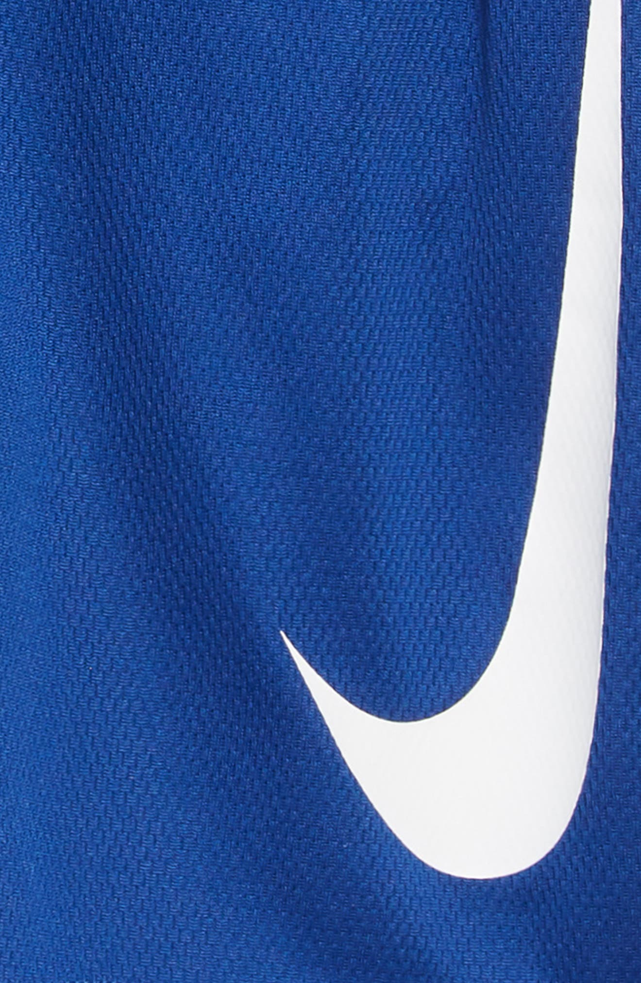 NIKE, Dry Shorts, Alternate thumbnail 2, color, INDIGO FORCE/ BLACK