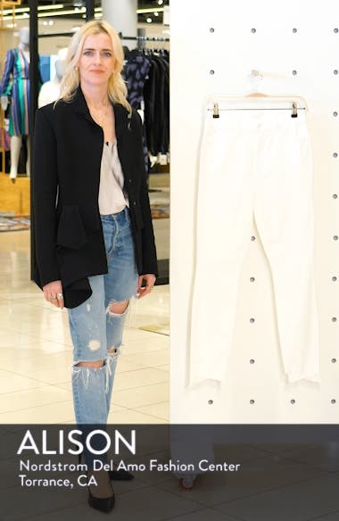 The Stunner Frayed Step Hem Skinny Jeans, sales video thumbnail