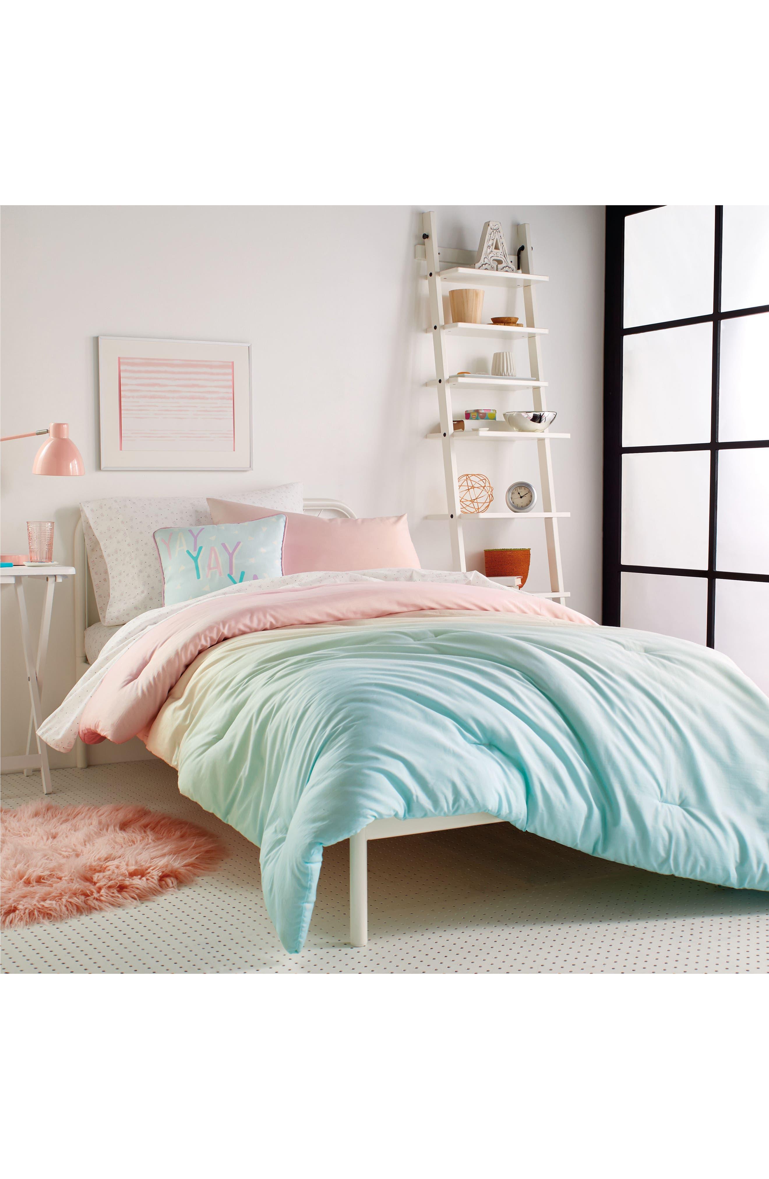 DKNY, Empire Light Comforter, Sham & Accent Pillow Set, Alternate thumbnail 6, color, 675