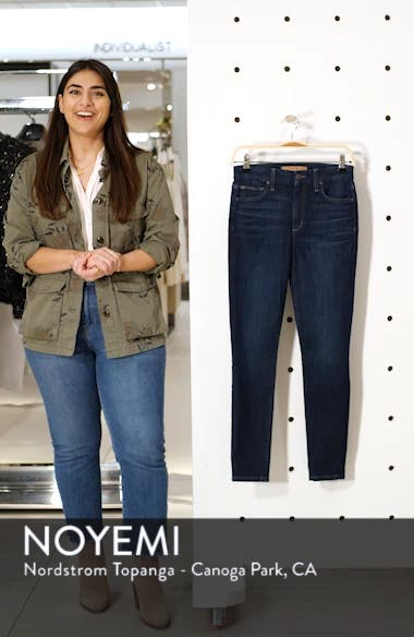 Honey High Waist Ankle Skinny Jeans, sales video thumbnail