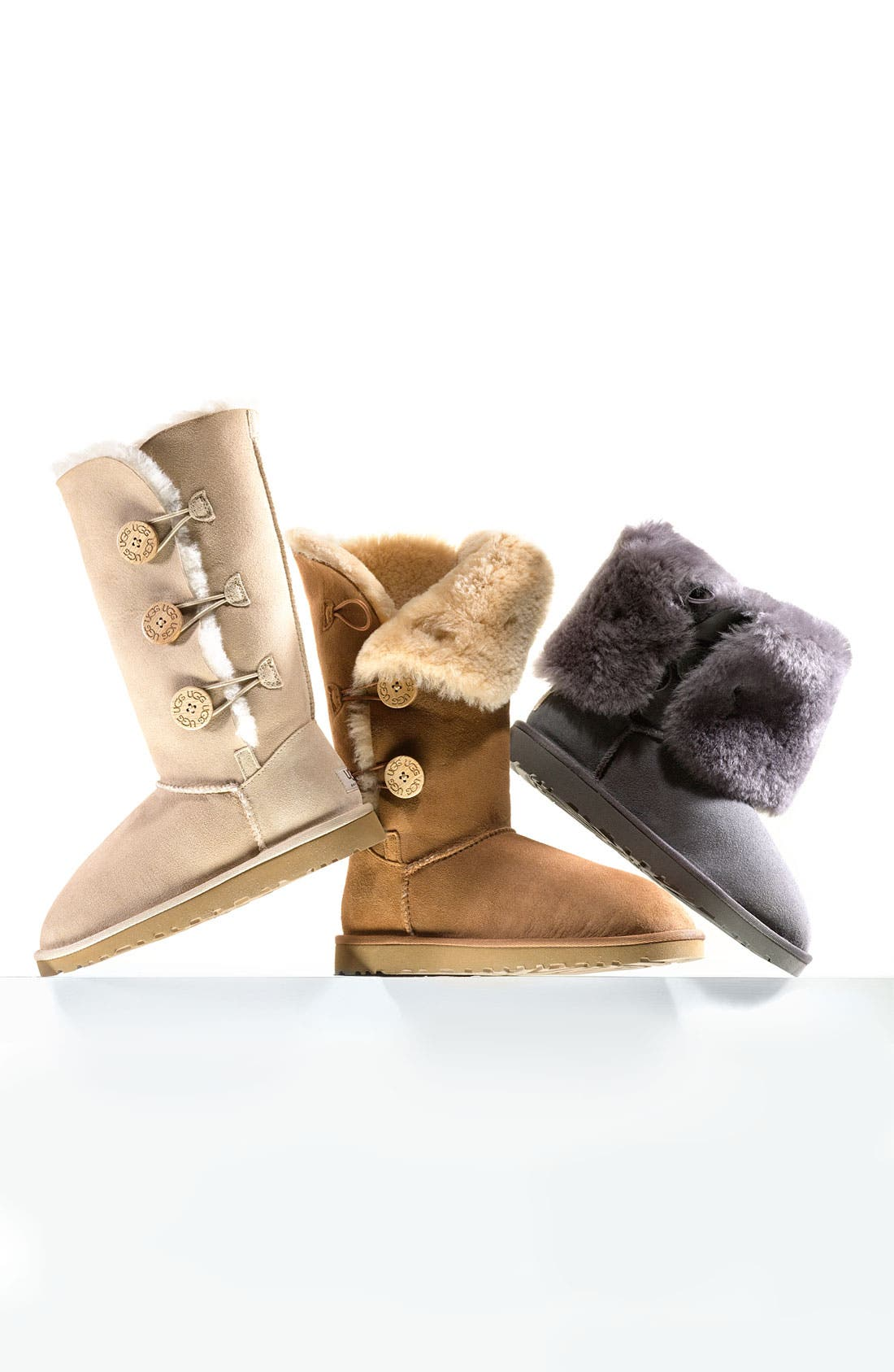 UGG<SUP>®</SUP> 'Bailey Button Triplet' Boot, Main, color, 452