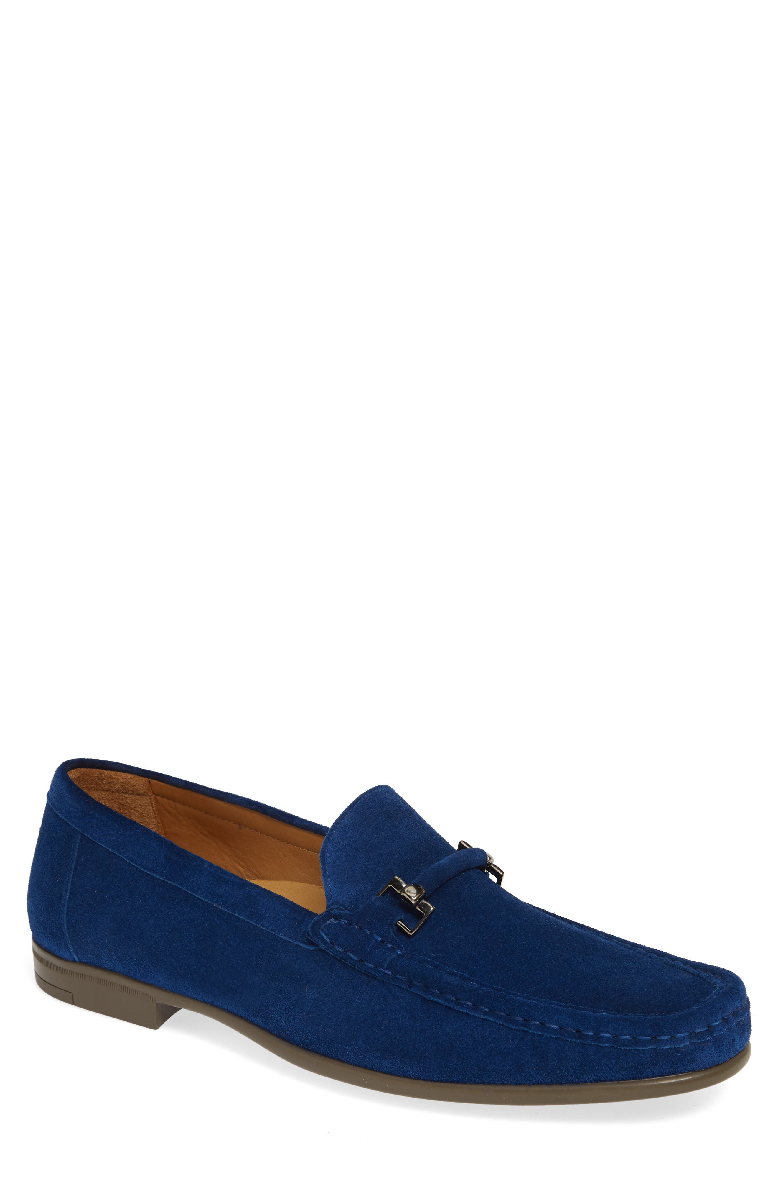 Mezlan Landa Bit Loafer, Blue