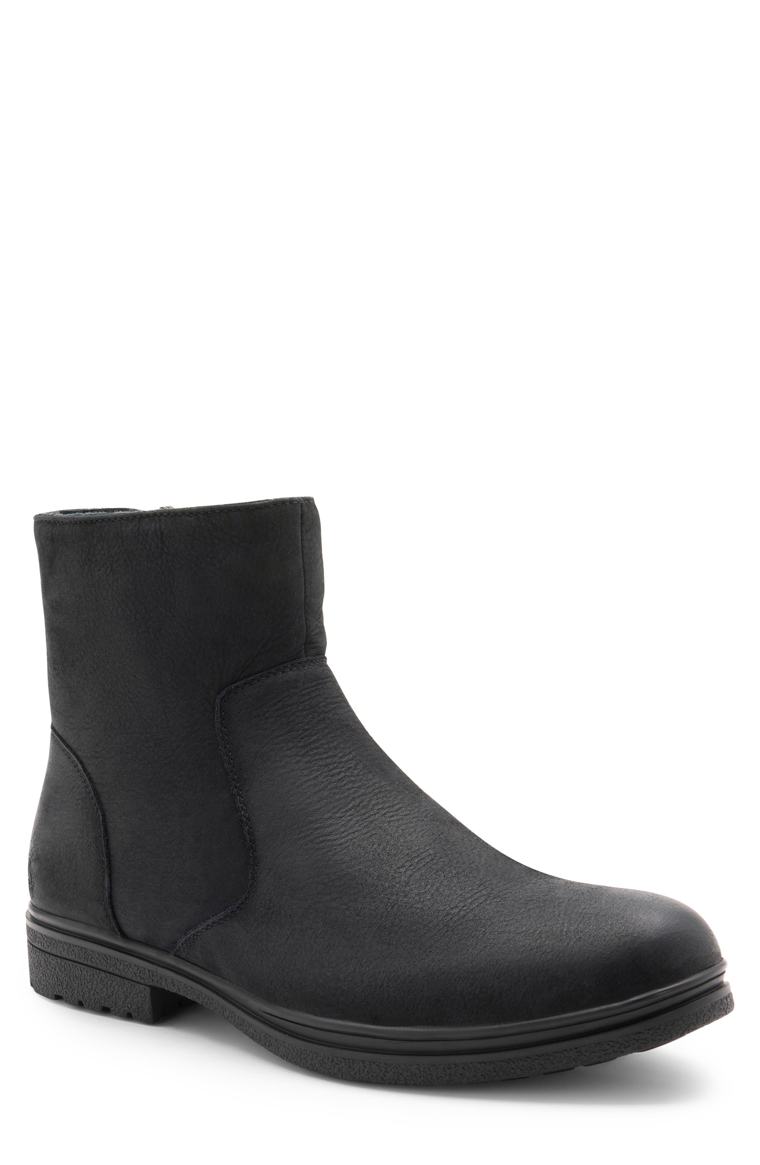 Blondo Sylvio Waterproof Zip Boot- Black