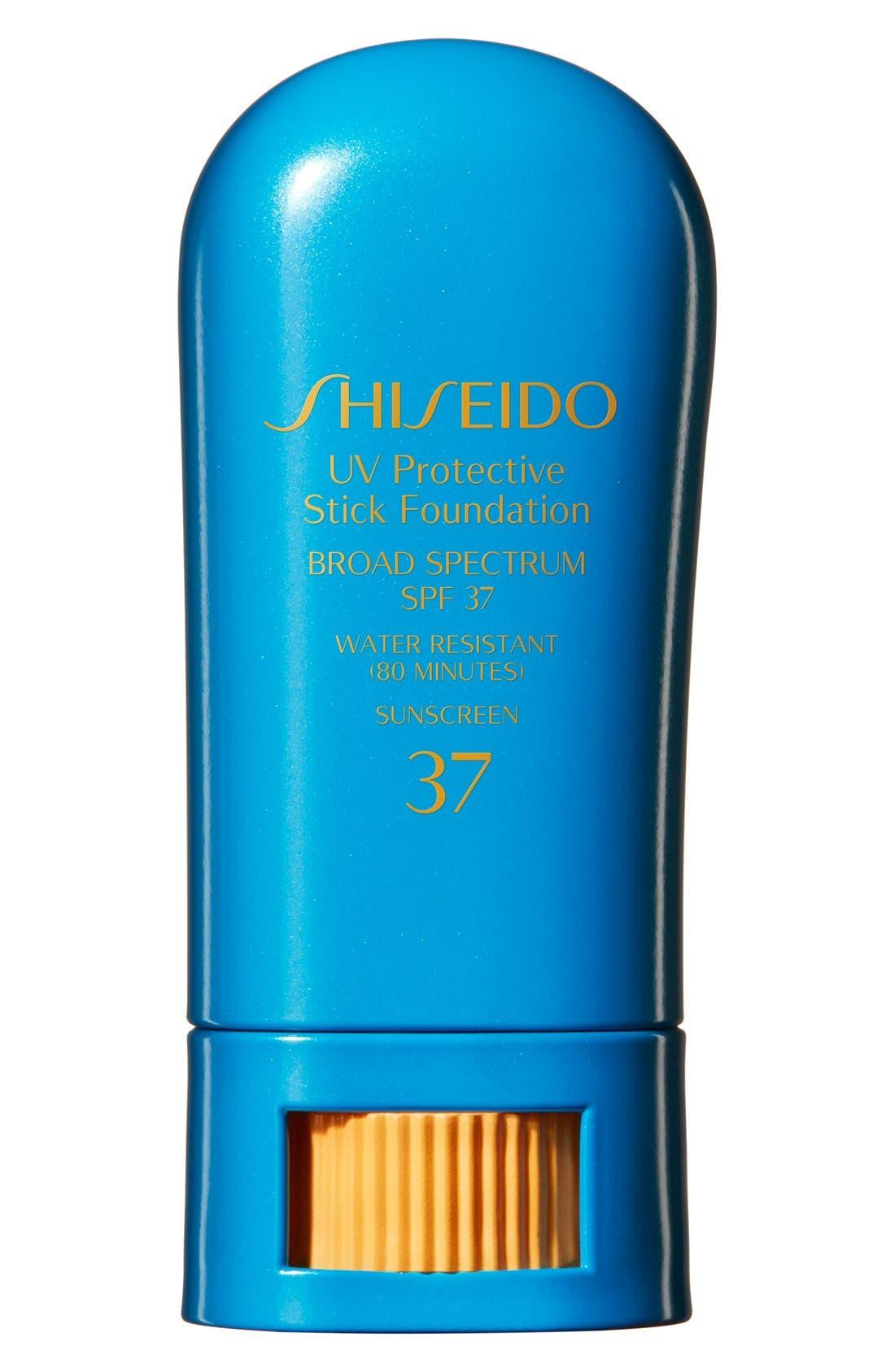 SHISEIDO Sun Protection Stick Broad Spectrum SPF 37, Main, color, FAIR IVORY