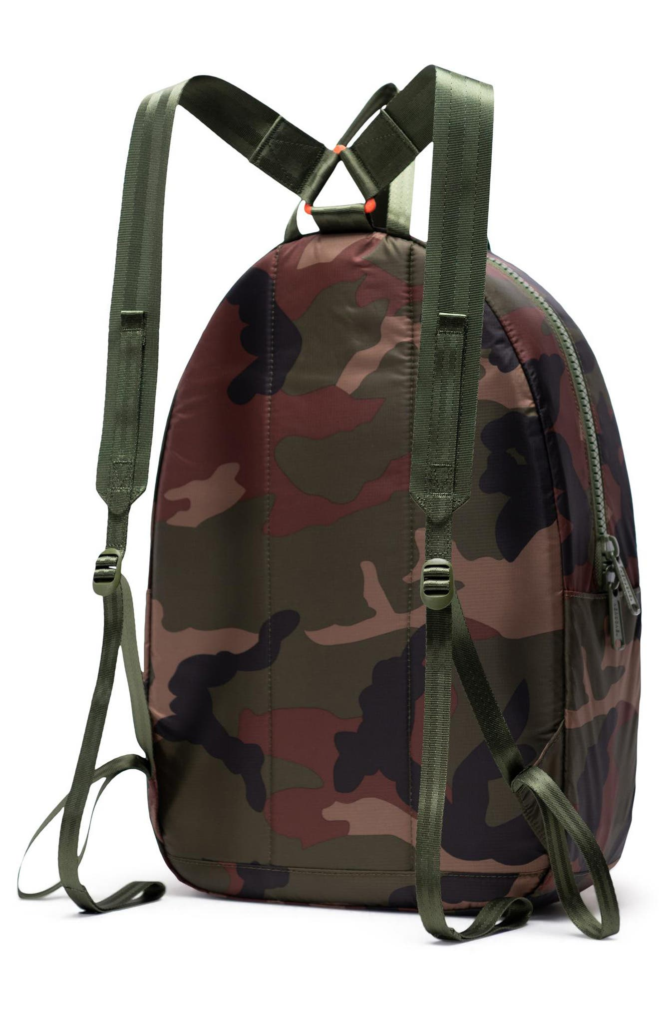 HERSCHEL SUPPLY CO., HS6 Studio Collection Backpack, Alternate thumbnail 2, color, WOODLAND CAMO