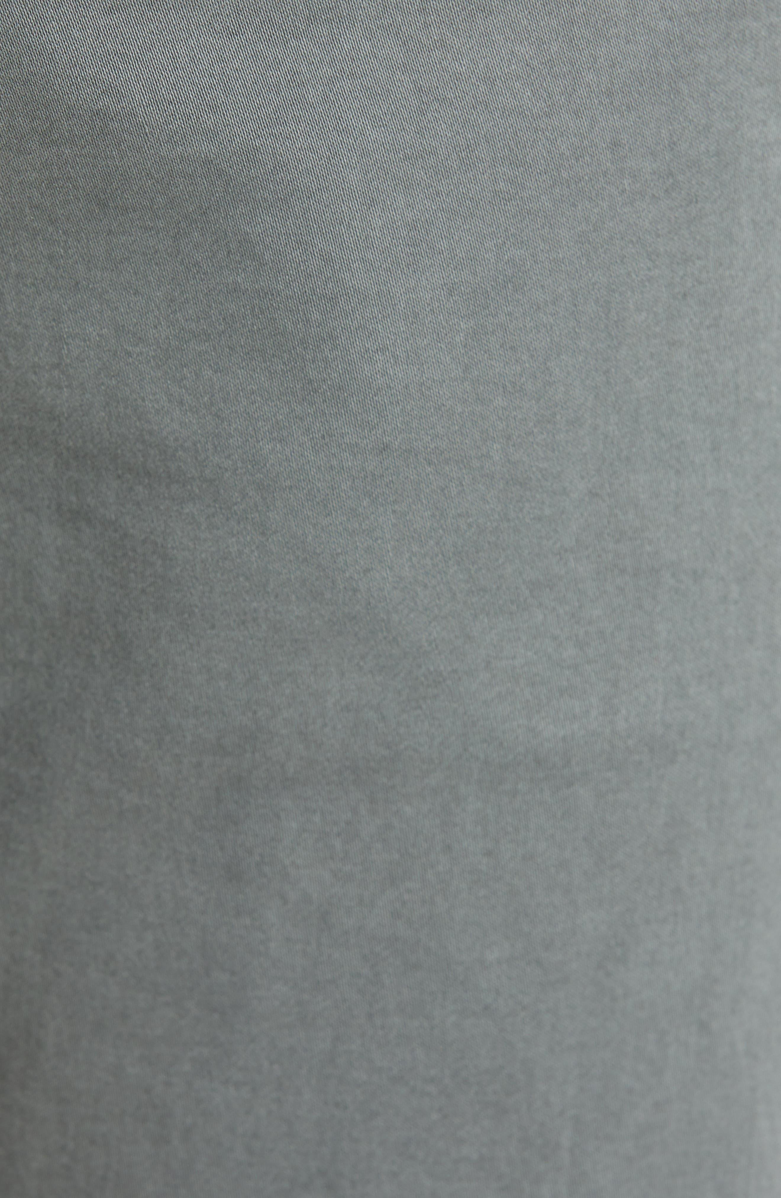 AG, Dylan Slim Fit Pants, Alternate thumbnail 6, color, SULFUR FOG BEACH
