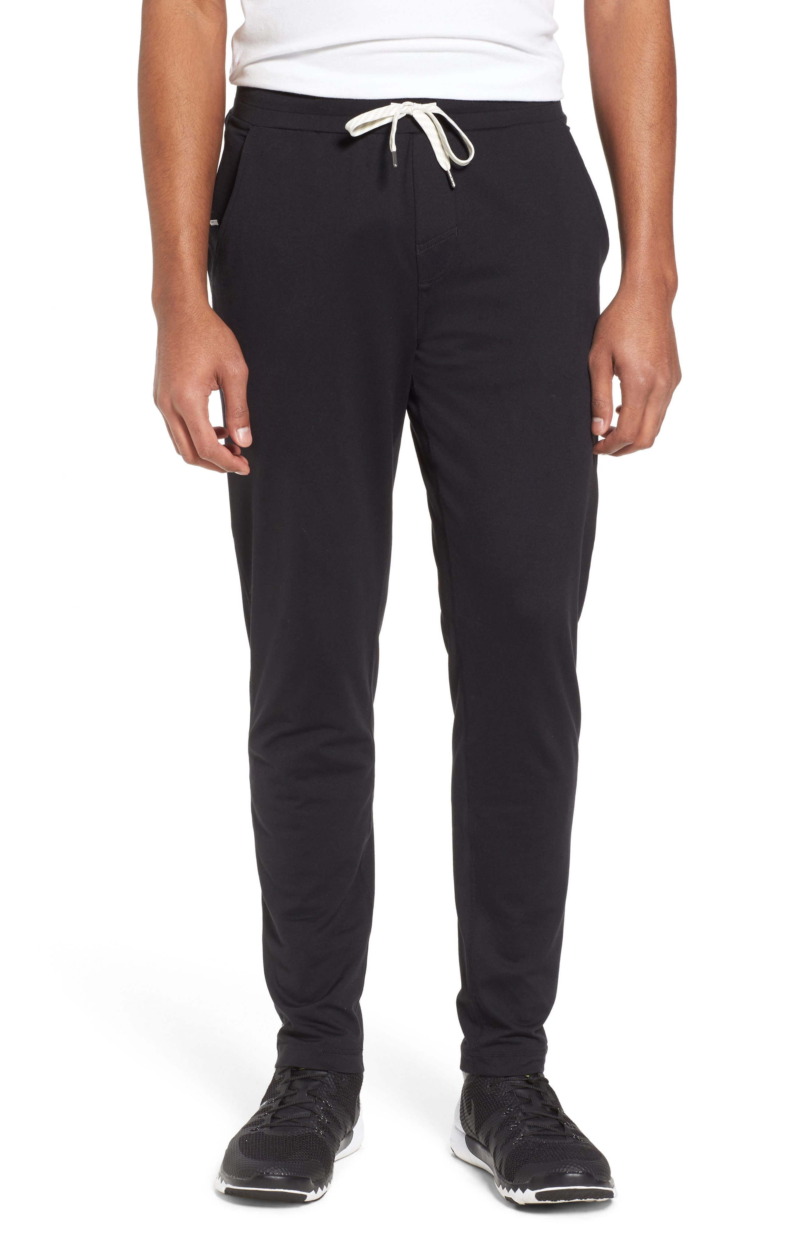 VUORI, Ponto Jogger Pants, Main thumbnail 1, color, BLACK