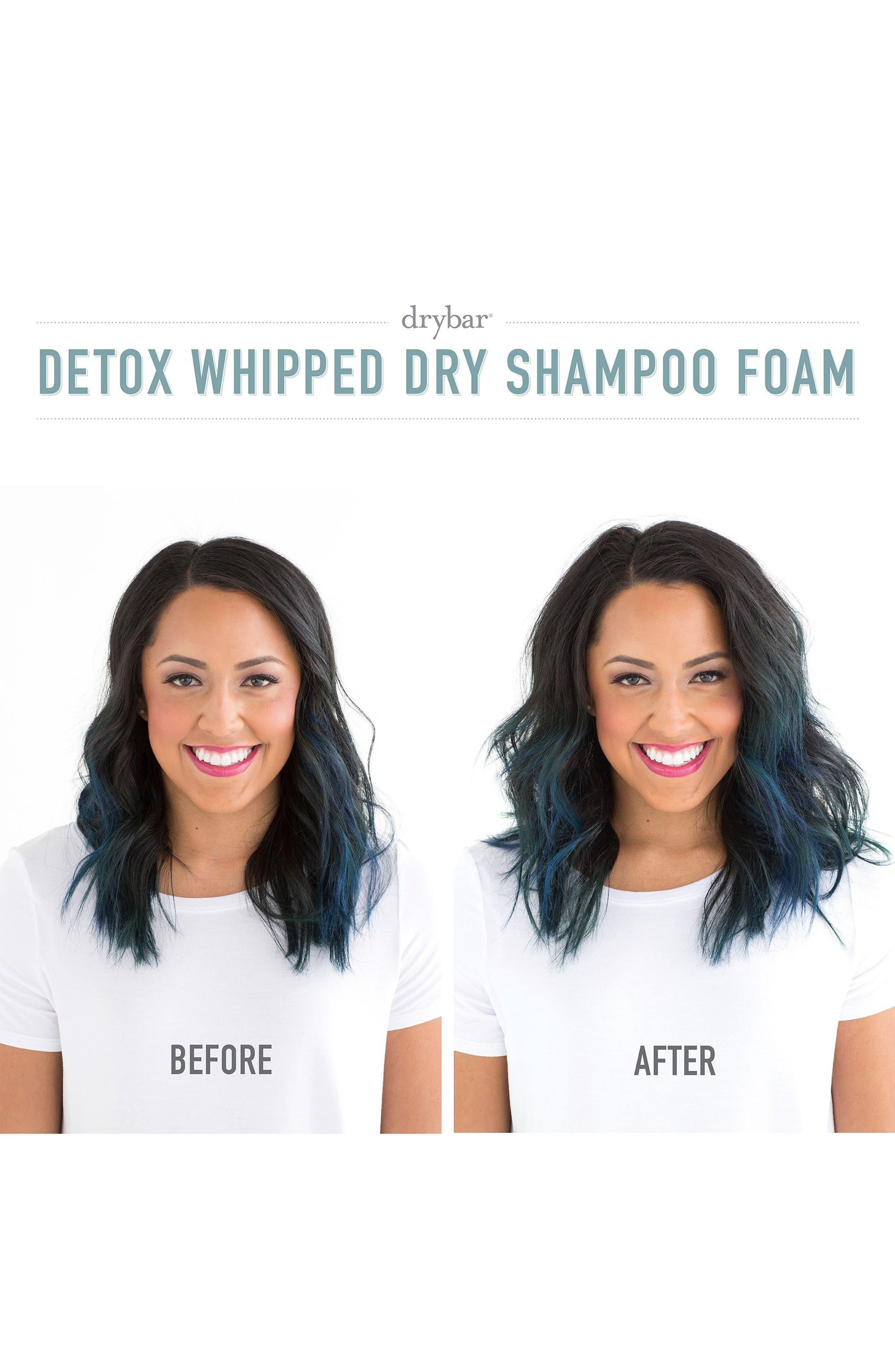 DRYBAR, Detox Whipped Dry Shampoo Foam, Alternate thumbnail 3, color, NO COLOR