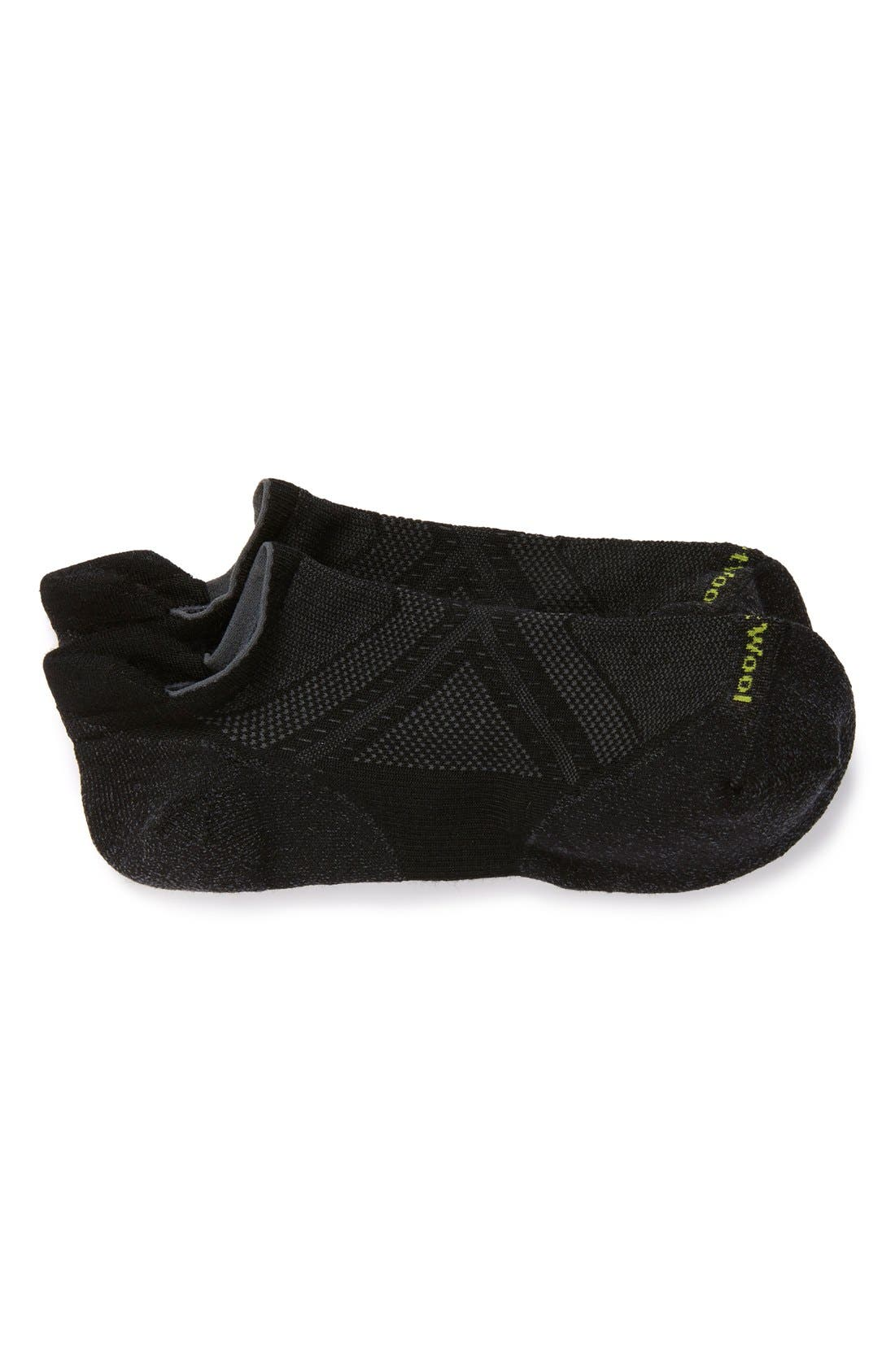 SMARTWOOL 'PhD Run Light Elite Micro' Socks, Main, color, BLACK