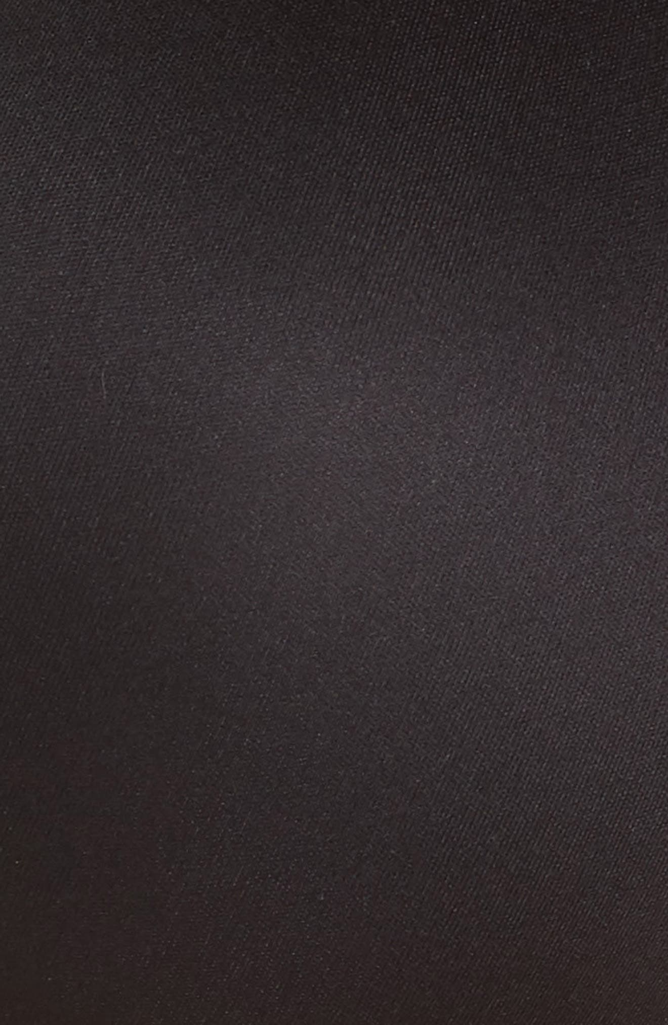 CHANTELLE LINGERIE, Memory Foam T-Shirt Bra, Alternate thumbnail 7, color, BLACK