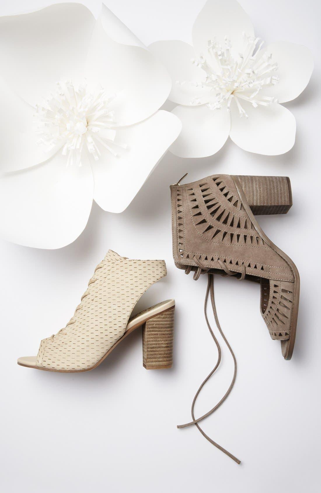 VINCE CAMUTO, 'Tarita' Cutout Lace-Up Sandal, Main thumbnail 1, color, 600