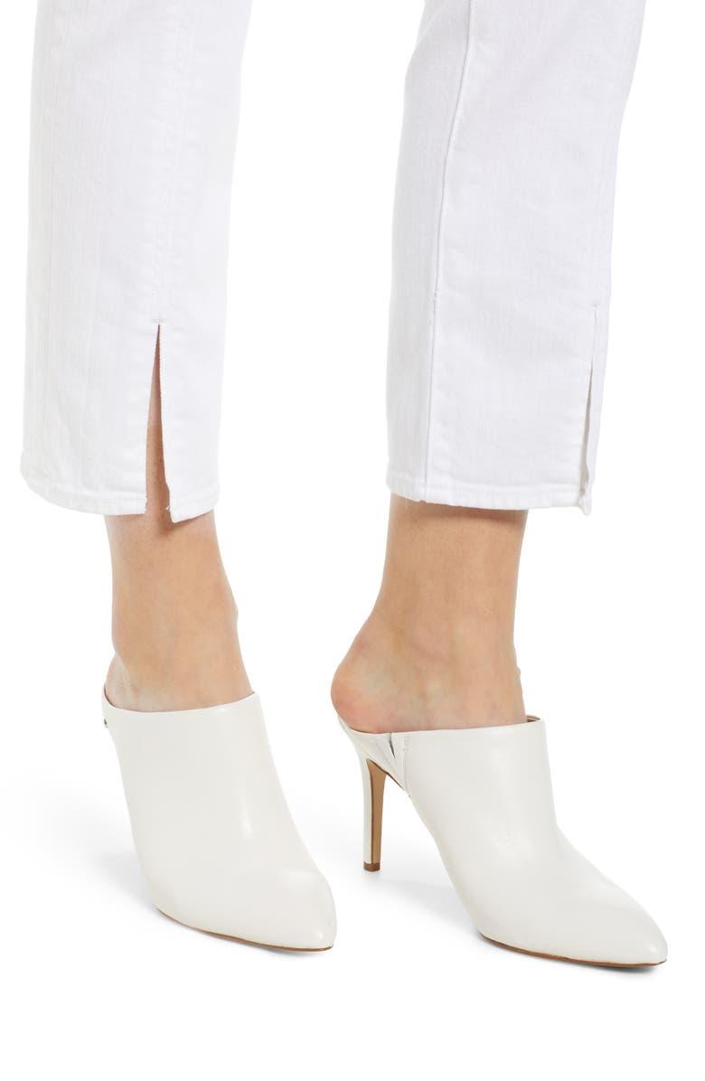 AG Straight jeans THE ISABELLE HIGH WAIST SPLIT HEM ANKLE STRAIGHT LEG JEANS