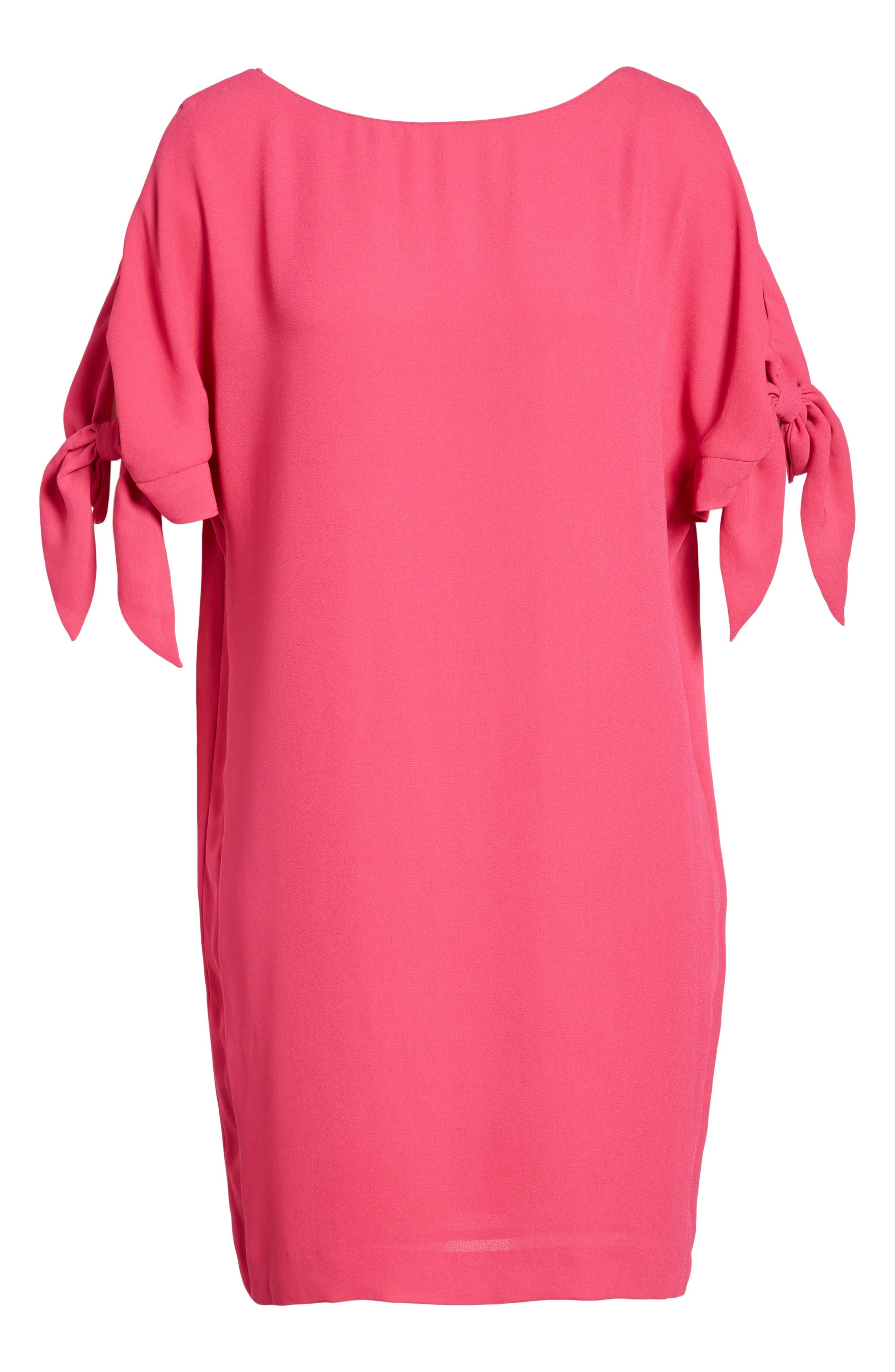 VINCE CAMUTO, Cold Shoulder Shift Dress, Alternate thumbnail 2, color, 660