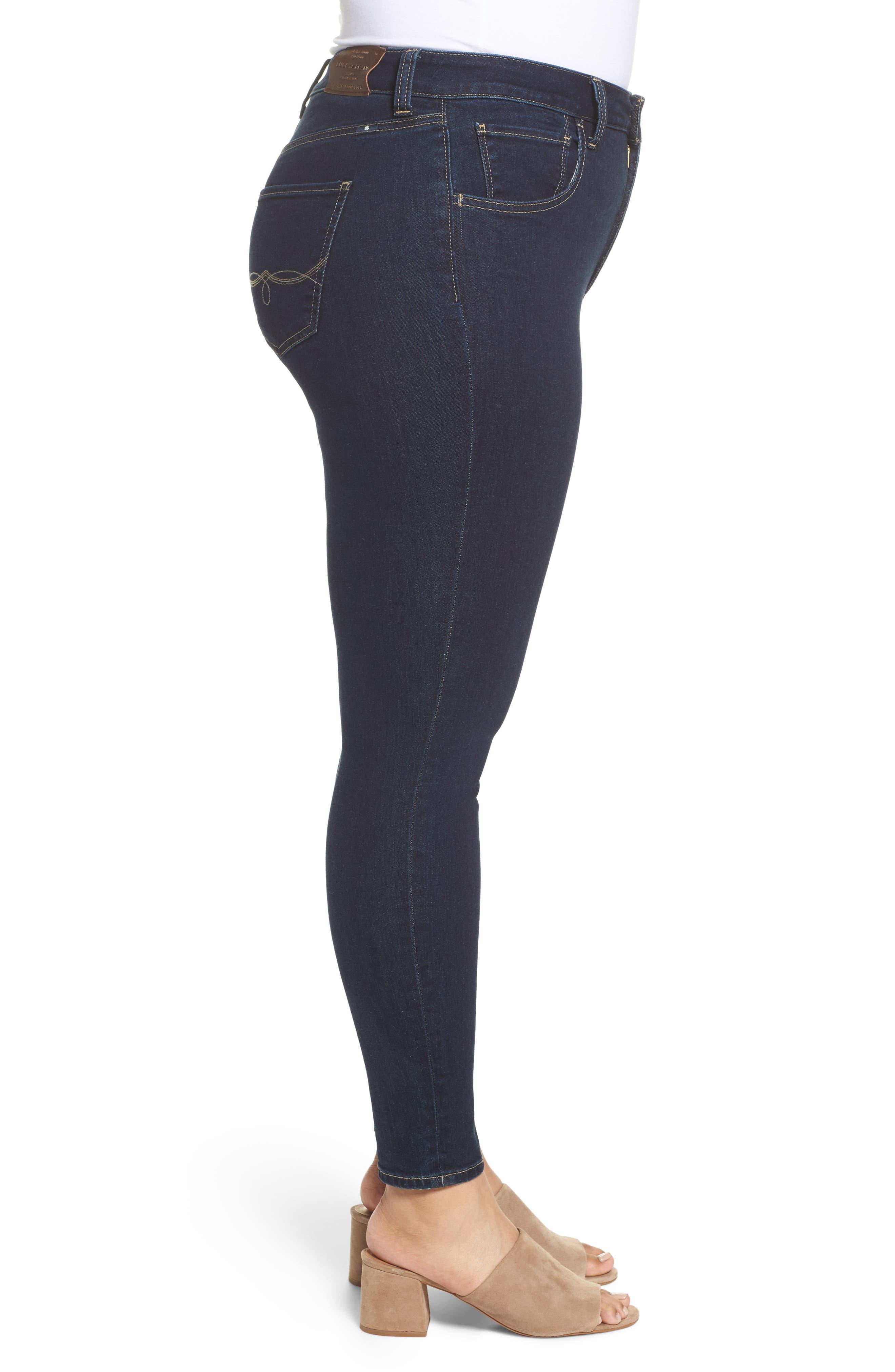 LUCKY BRAND, Emma High Rise Legging Jeans, Alternate thumbnail 4, color, BREAKER