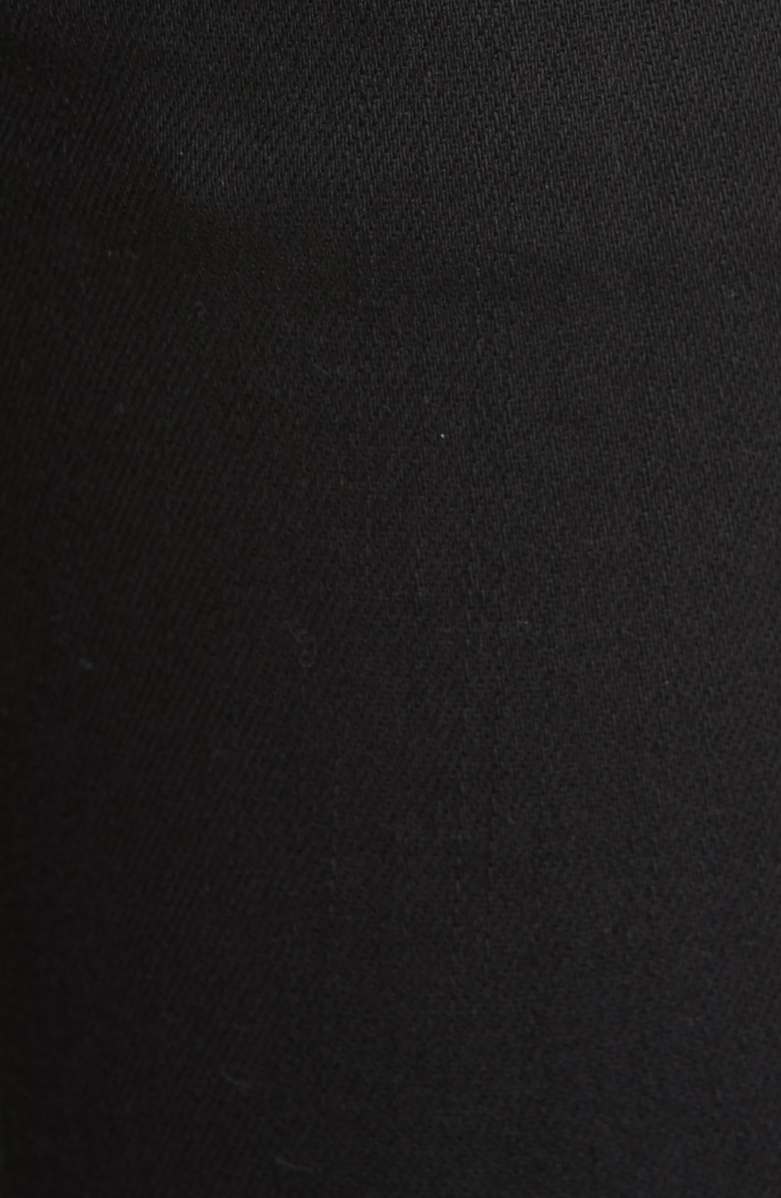 KSUBI, Van Winkle Ace Slice Jeans, Alternate thumbnail 5, color, BLACK