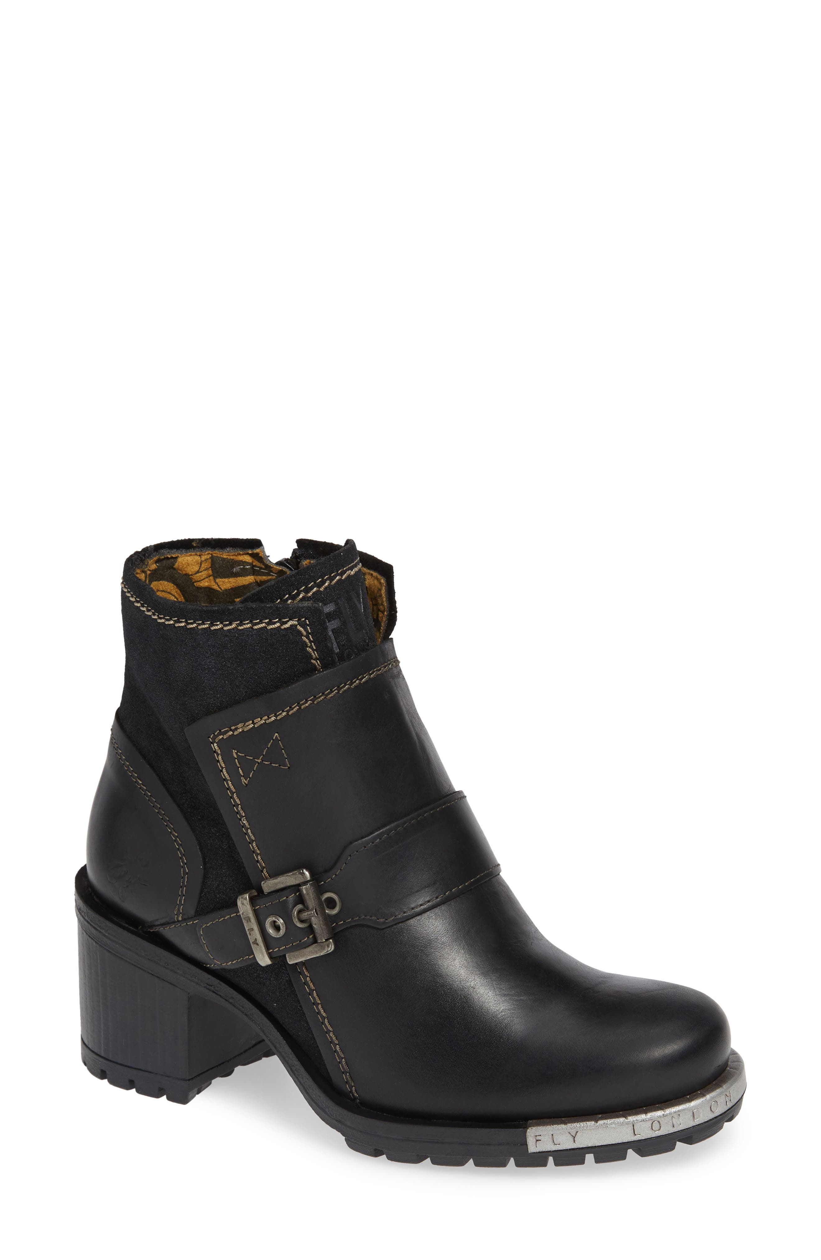 Fly London Labe Bootie, Black