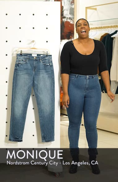 Le Boy Distressed Boyfriend Jeans, sales video thumbnail