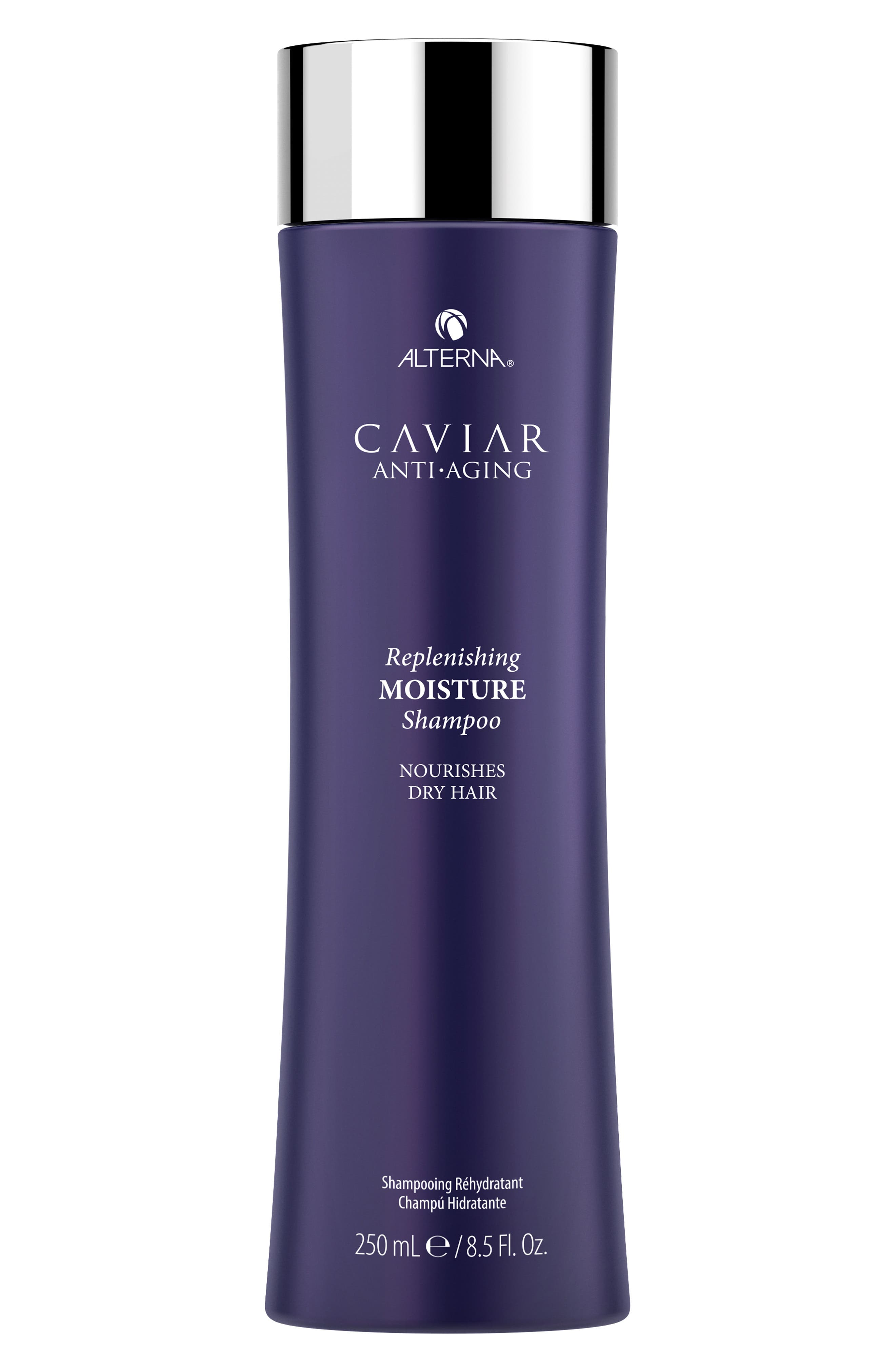 ALTERNA<SUP>®</SUP>, Caviar Anti-Aging Replenishing Moisture Shampoo, Main thumbnail 1, color, NO COLOR