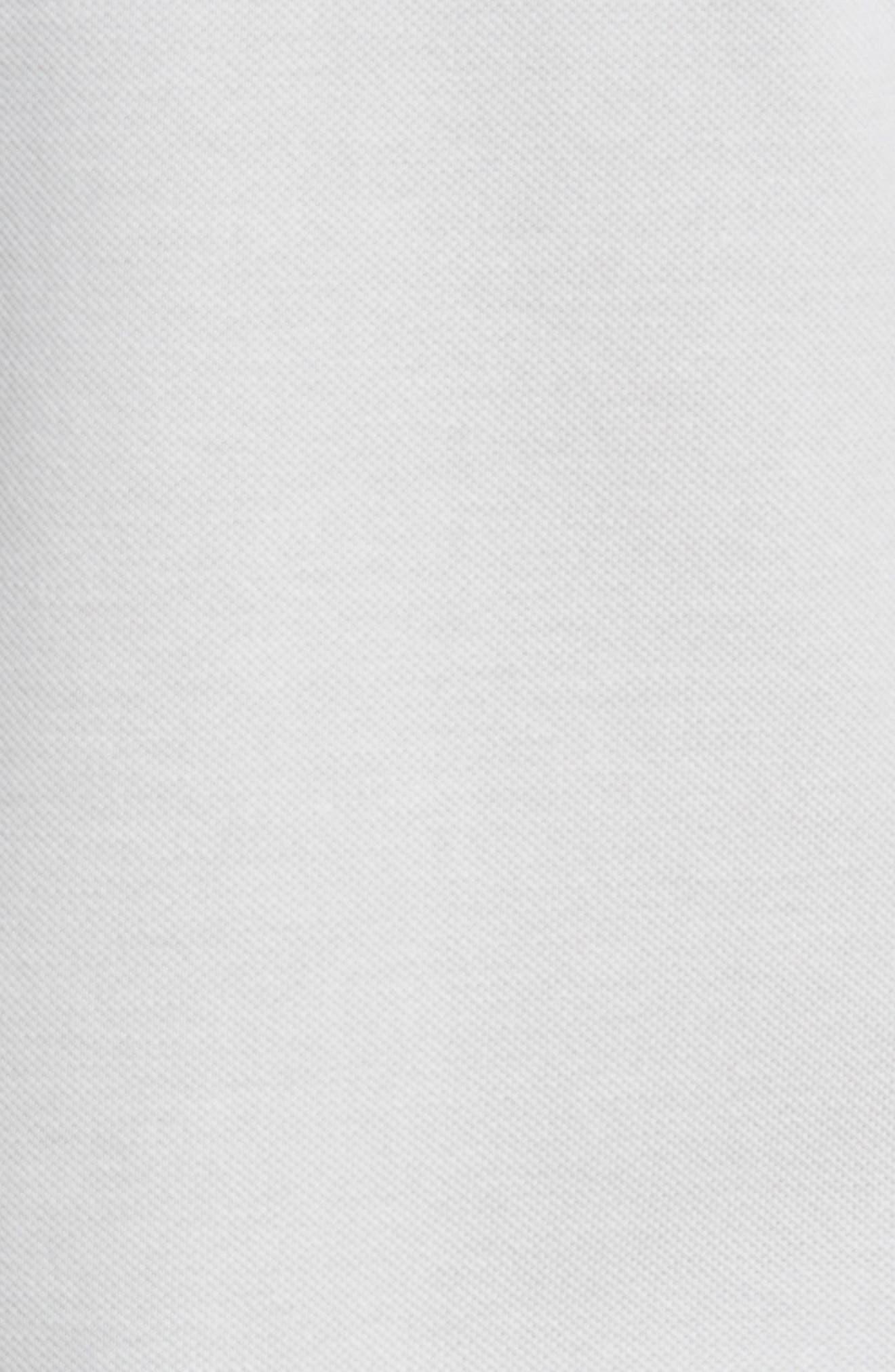 LACOSTE, 'L1212' Piqué Polo, Alternate thumbnail 5, color, 020