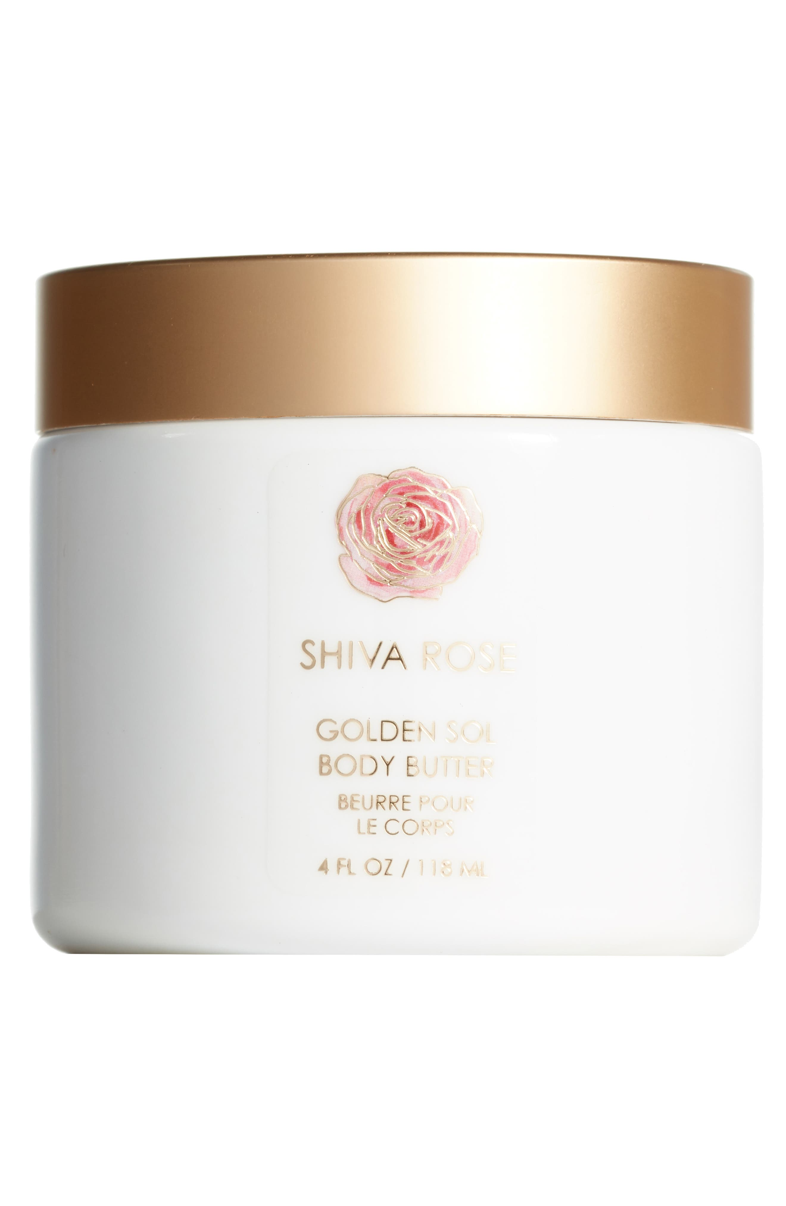 SHIVA ROSE, Golden Soul Body Butter, Main thumbnail 1, color, WHITE