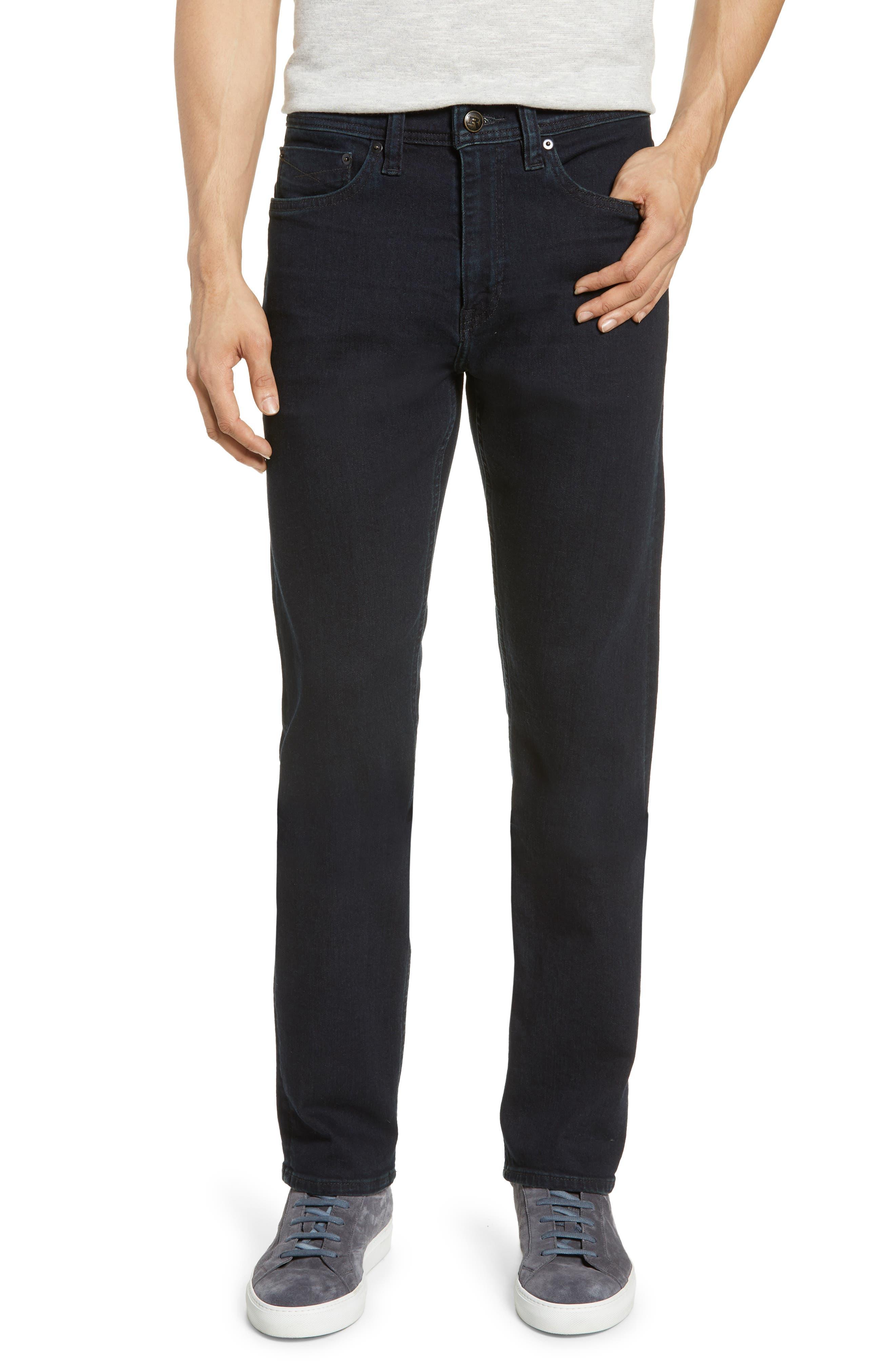REVTOWN, Sharp Slim Fit Jeans, Main thumbnail 1, color, RINSE INDIGO