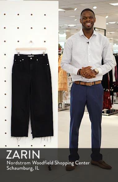 Wide Leg Crop Jeans, sales video thumbnail