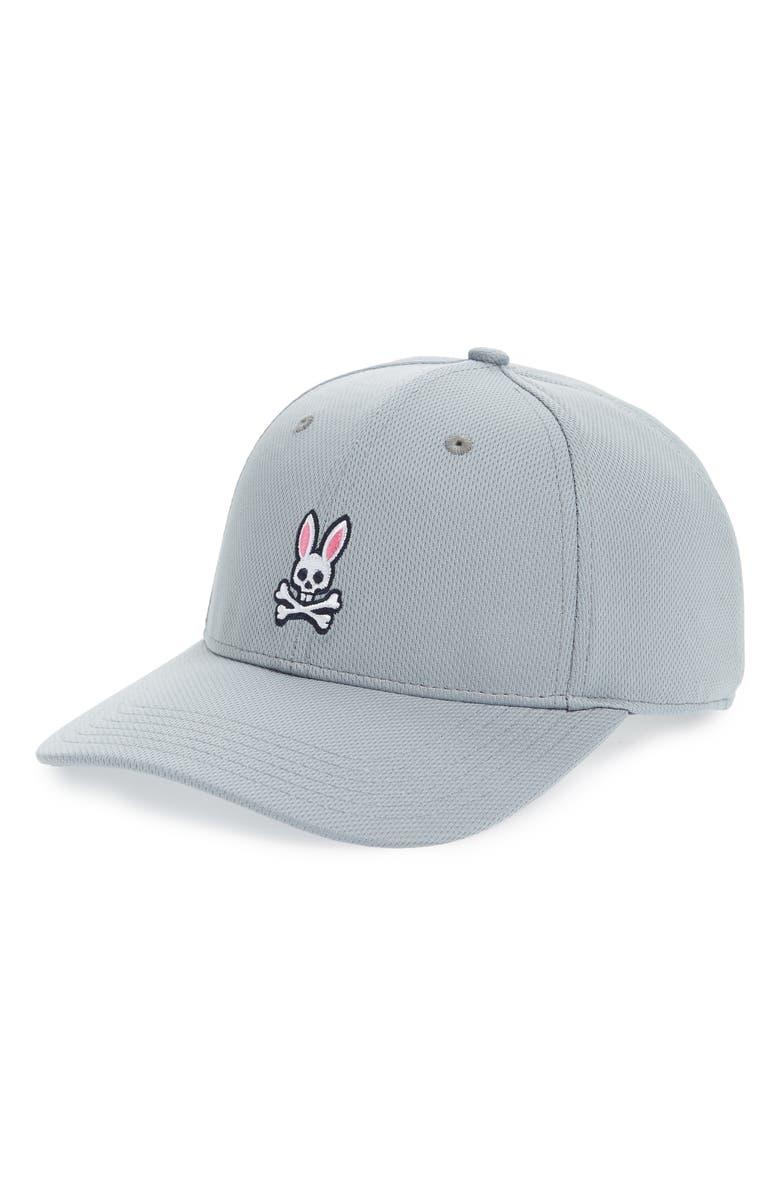 487285668bf PSYCHO BUNNY Sport Ball Cap, Main, color, SHARK