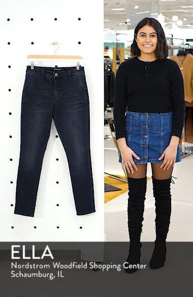 High Waist Ankle Boyfriend Jeans, sales video thumbnail