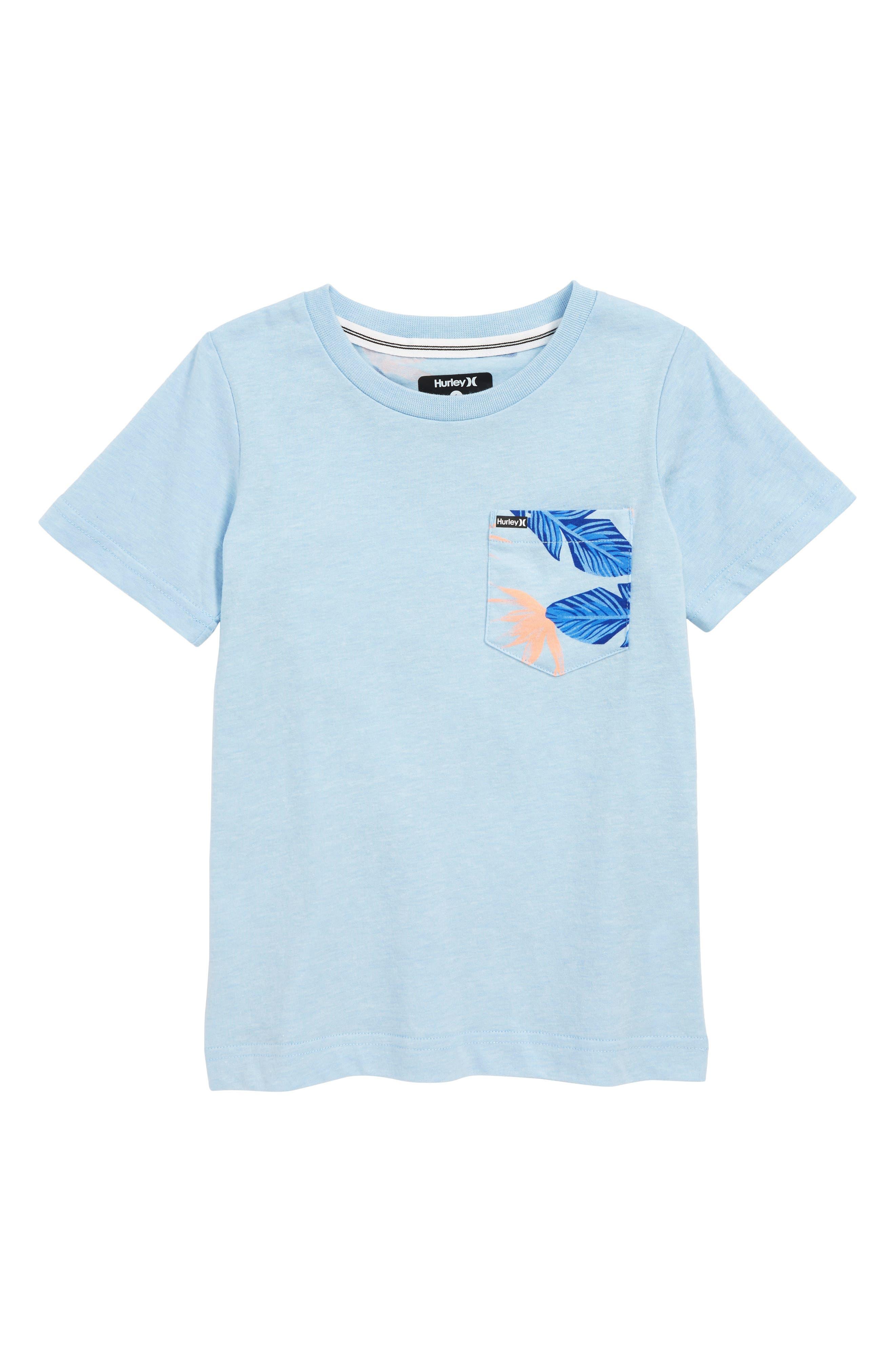 HURLEY Paradise T-Shirt, Main, color, CHAMBRAY BLUE HEATHER