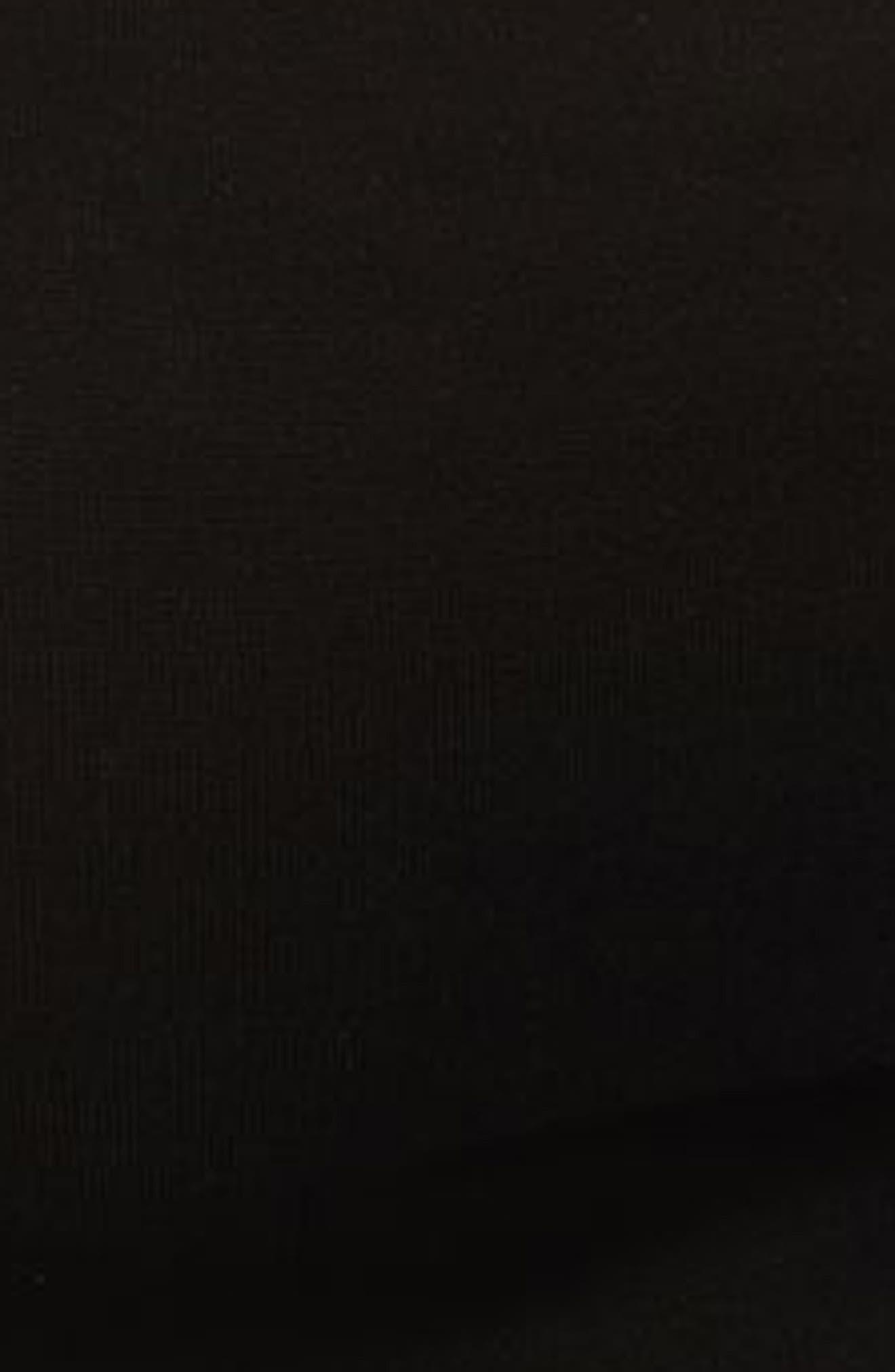 TOPSHOP, Square Neck Ponte Bodysuit, Alternate thumbnail 3, color, 001